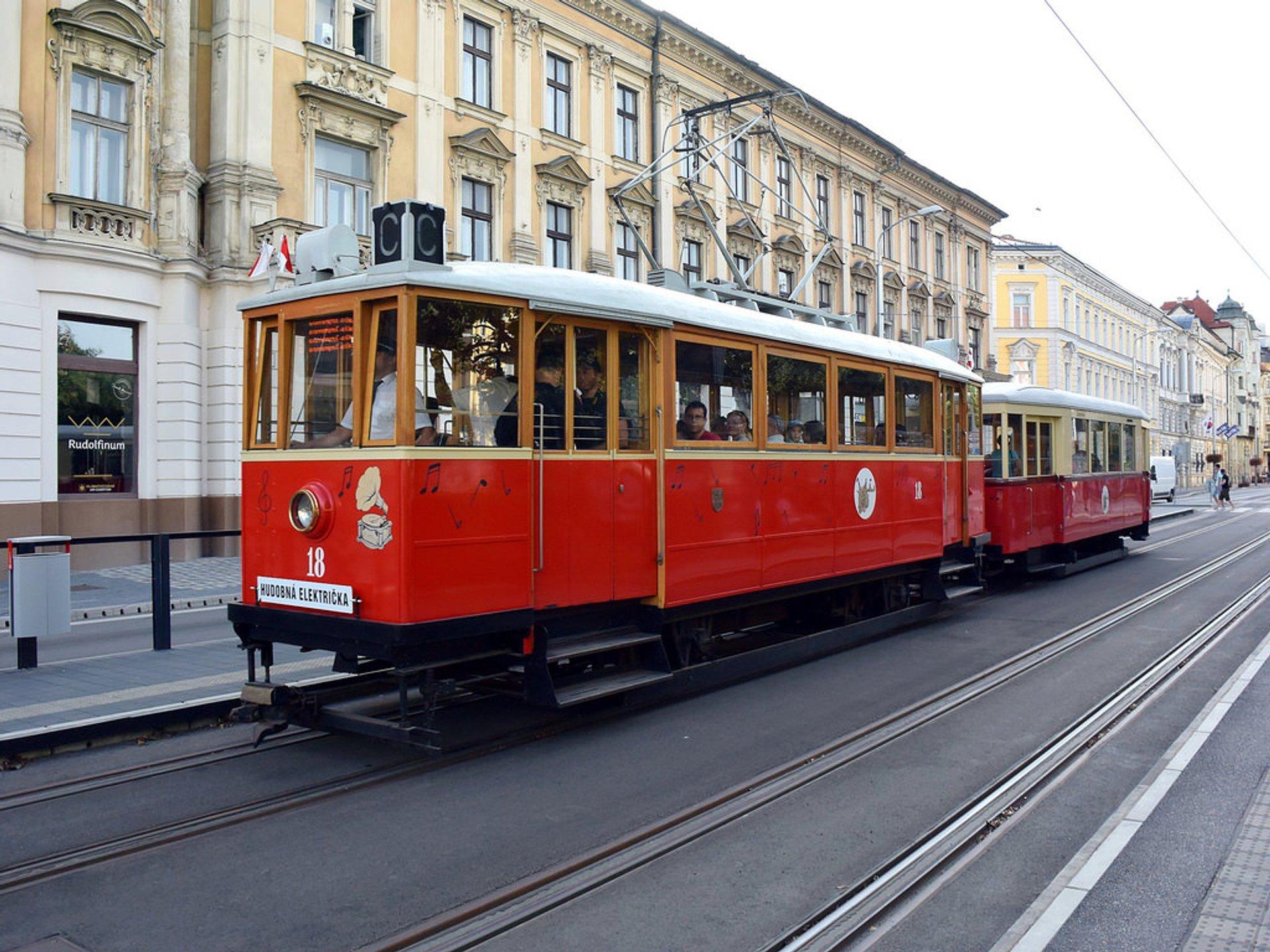 Bratislava Music Tram in Slovakia - Best Season