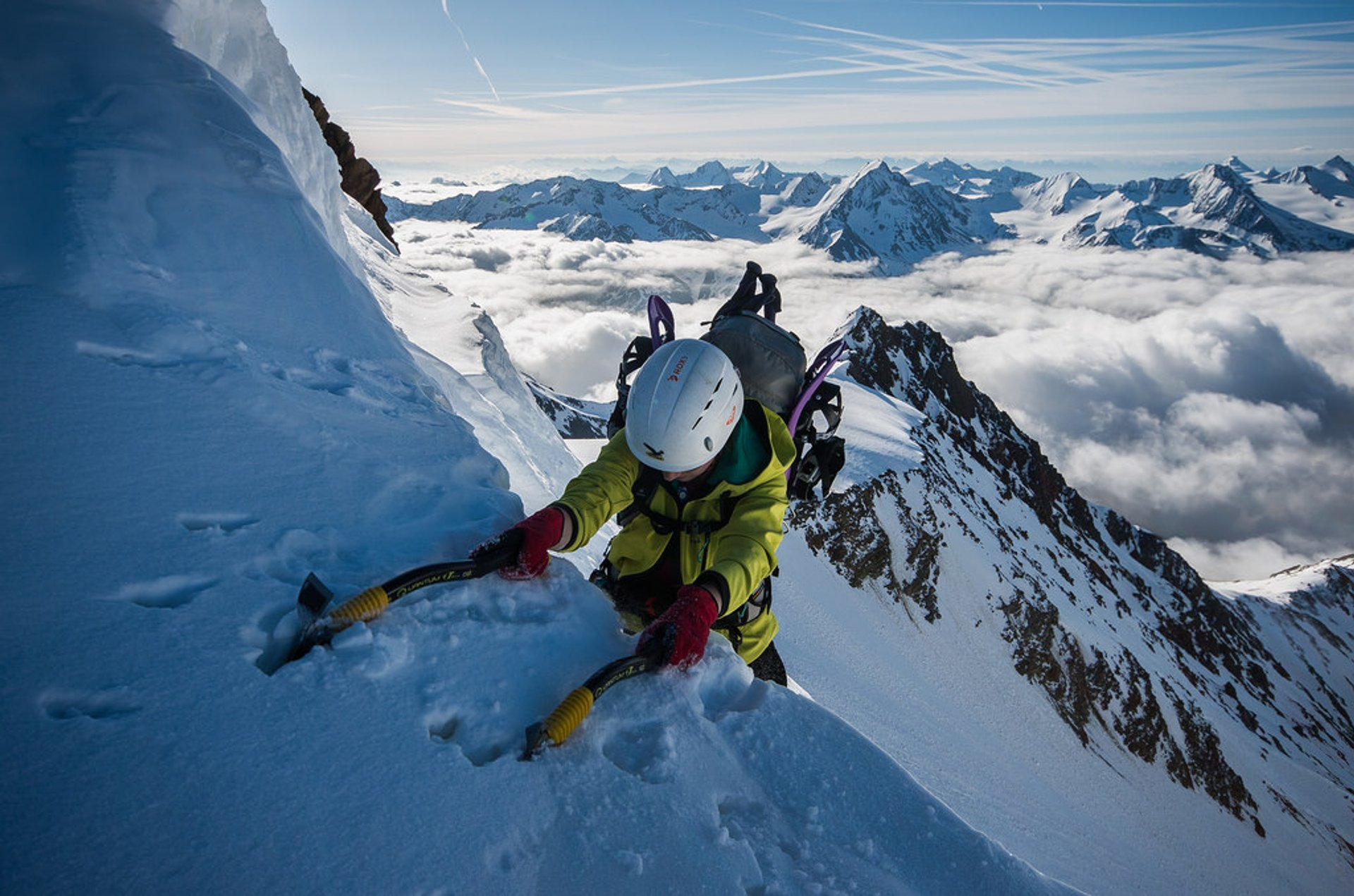 Best time to see Rock and Glacier Climbing in Austria 2020