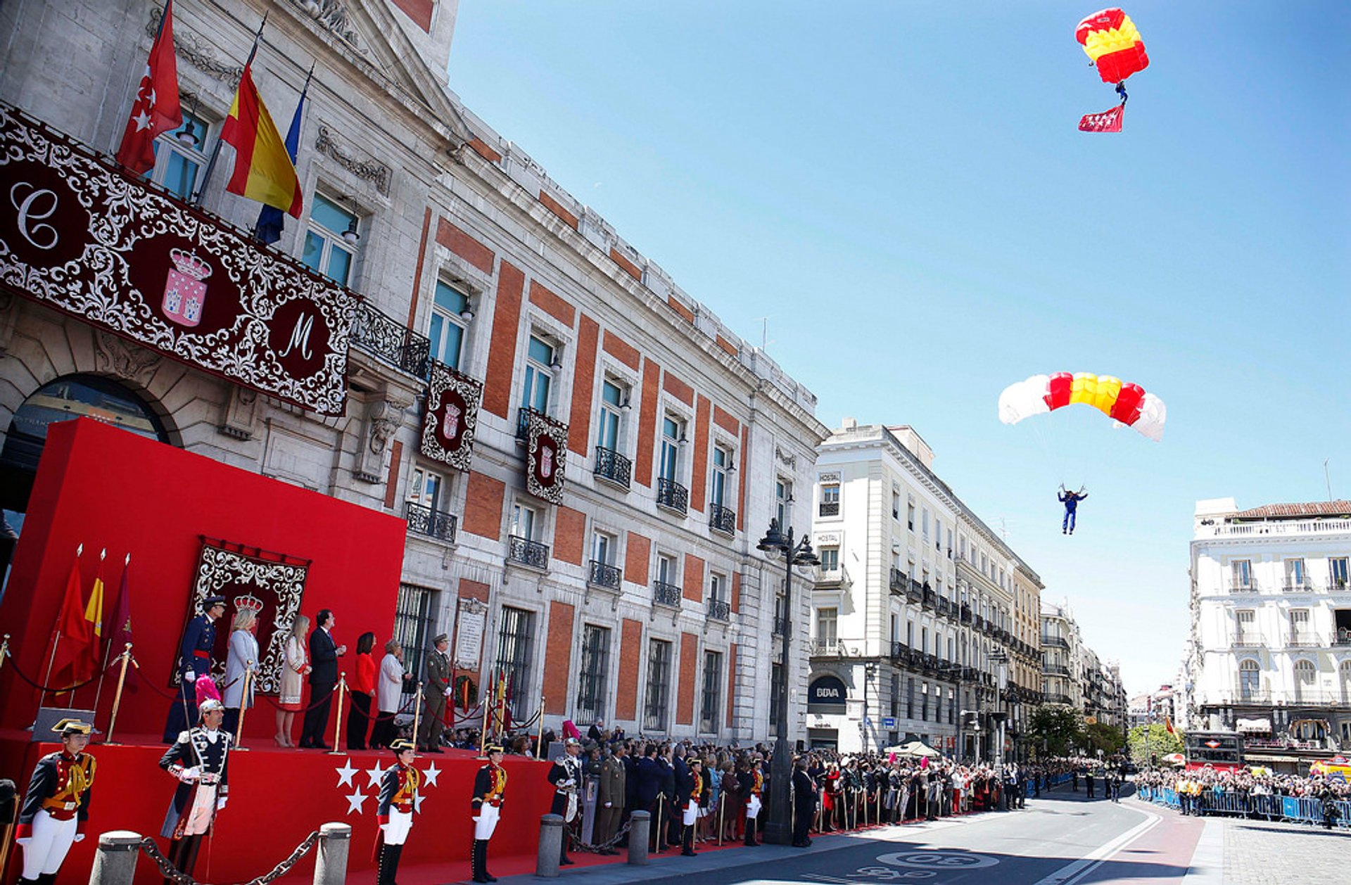 Best time for Fiesta Dos de Mayo (Day of Madrid Festival) in Madrid 2020