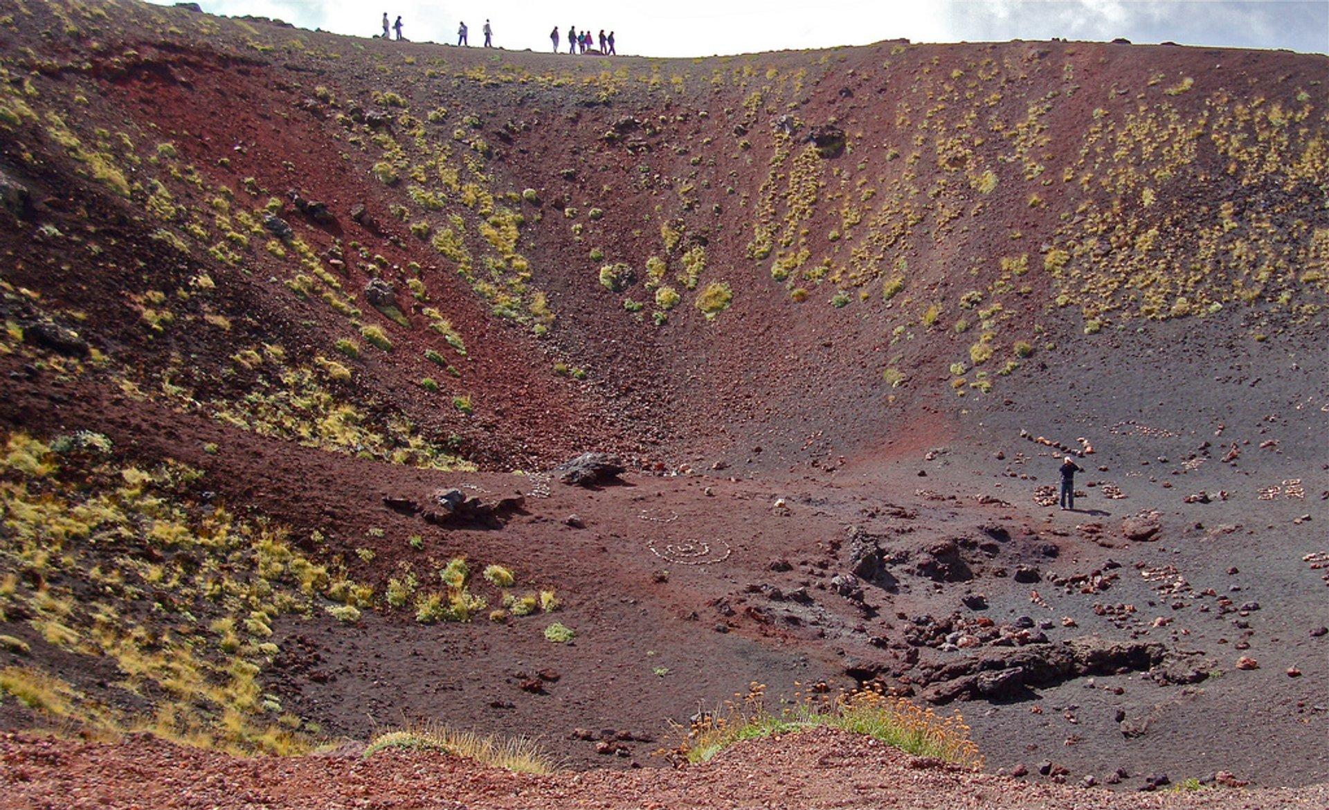 A Walk around Mount Etna in Sicily - Best Season 2020