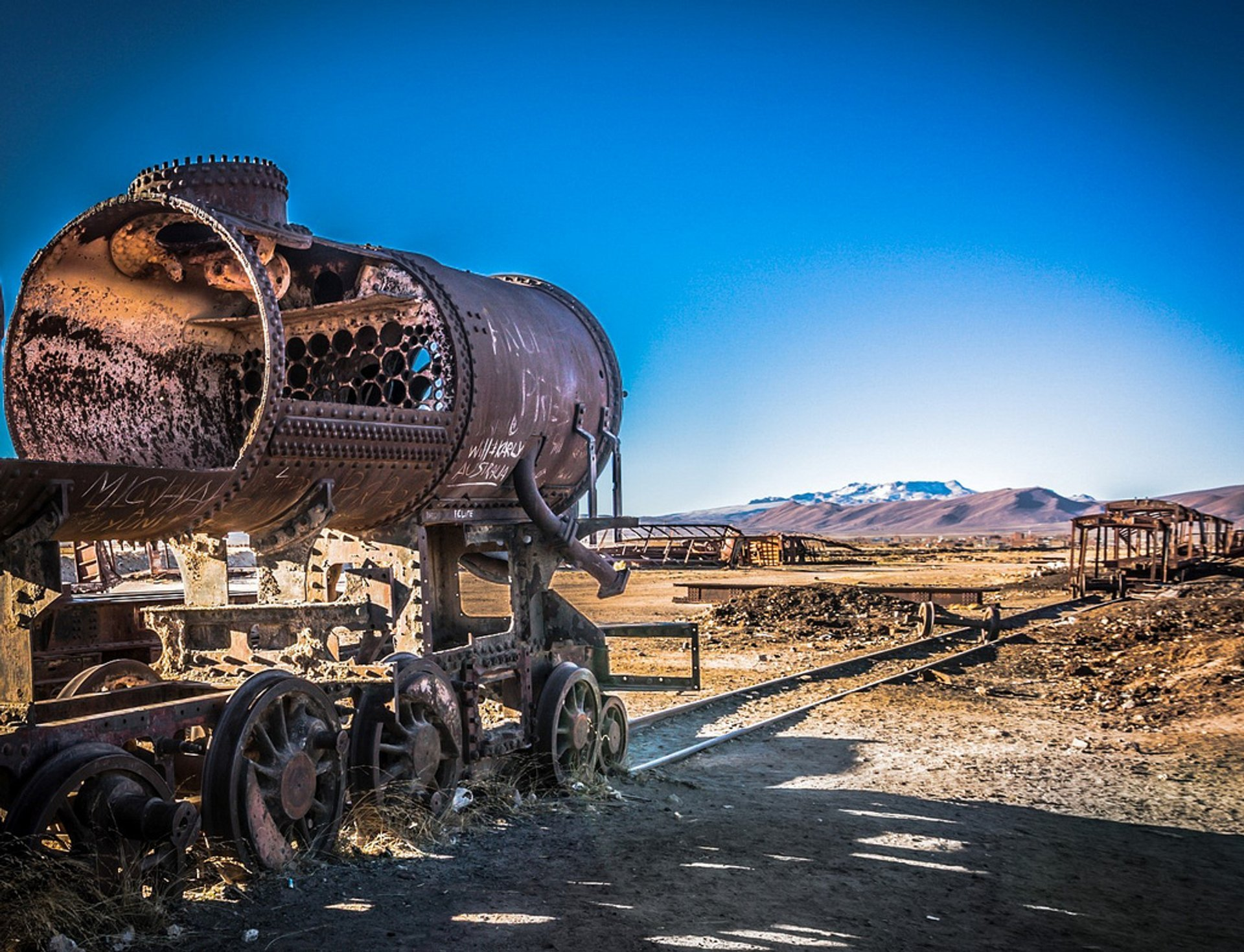 Best time to see Train Cemetery in Bolivia 2019