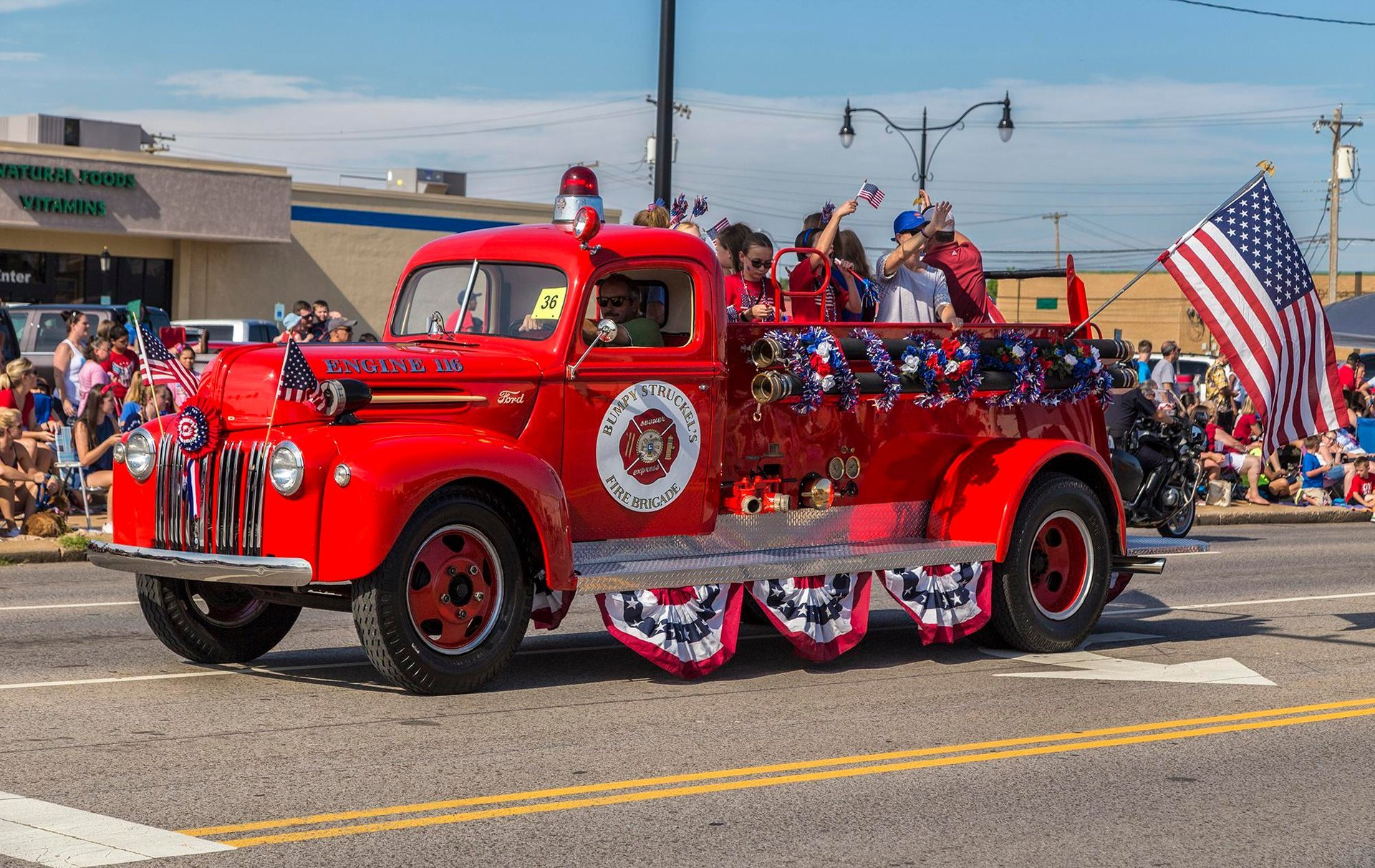 4th of July parade in Edmond 2020
