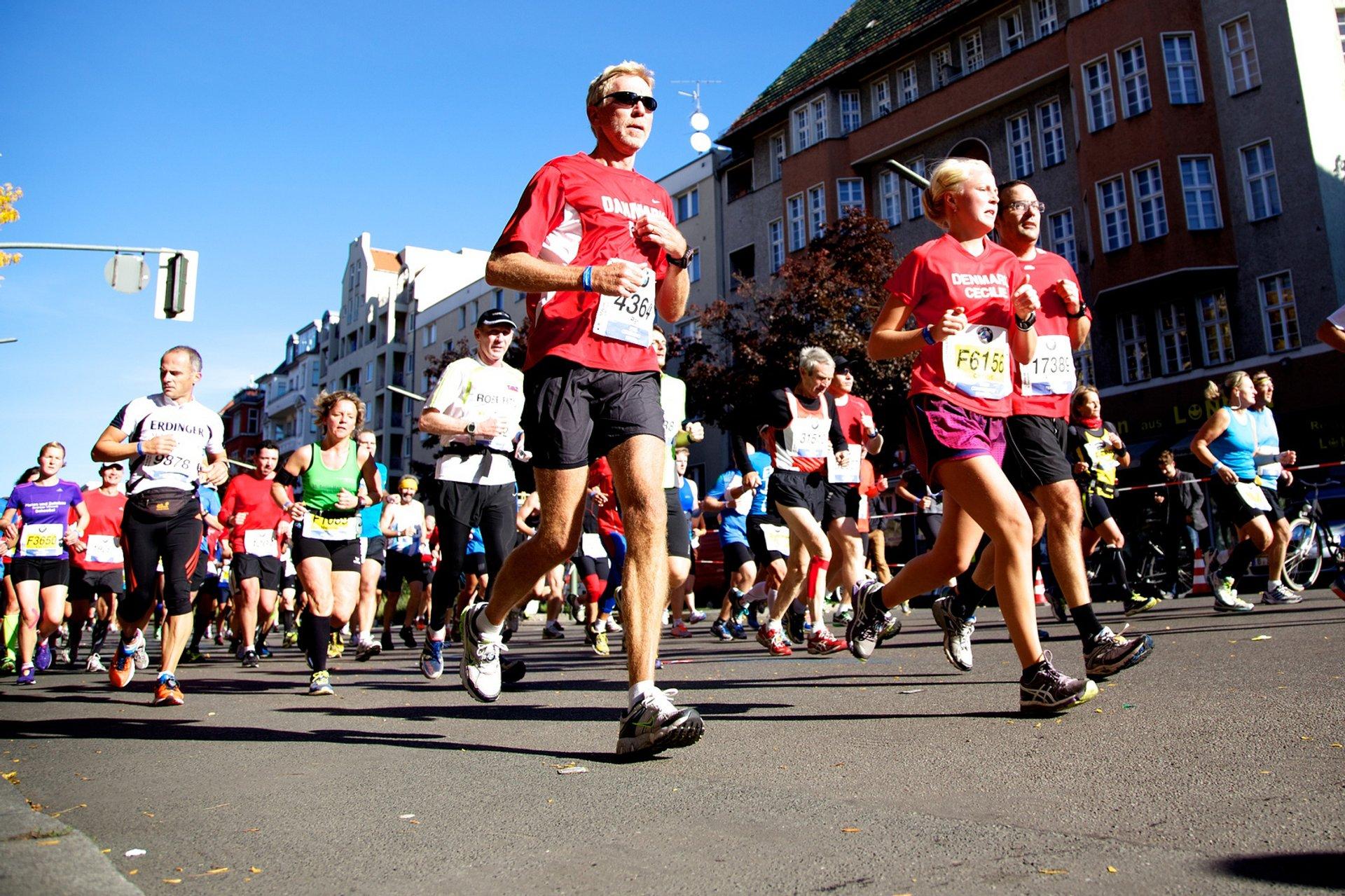 BMW Berlin Marathon in Berlin 2020 - Best Time