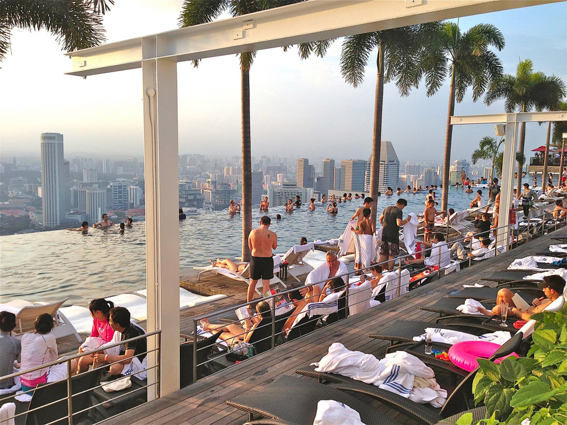 Best time for Marina Bay Sands SkyPark in Singapore