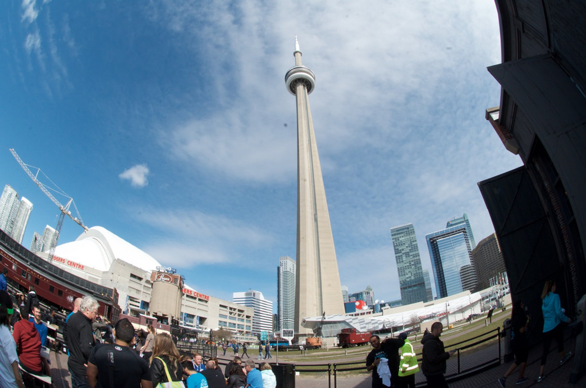 Best time for CN Tower Climb in Toronto 2020