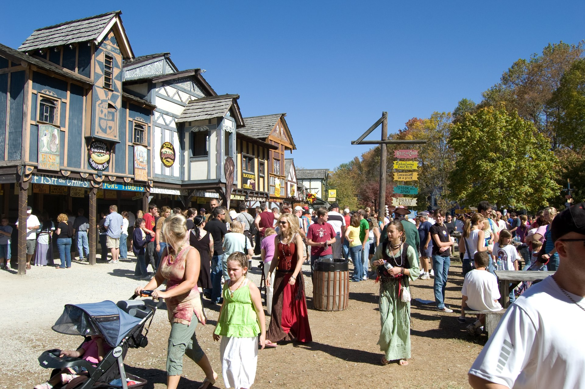 Best time to see Ohio Renaissance Festival 2020
