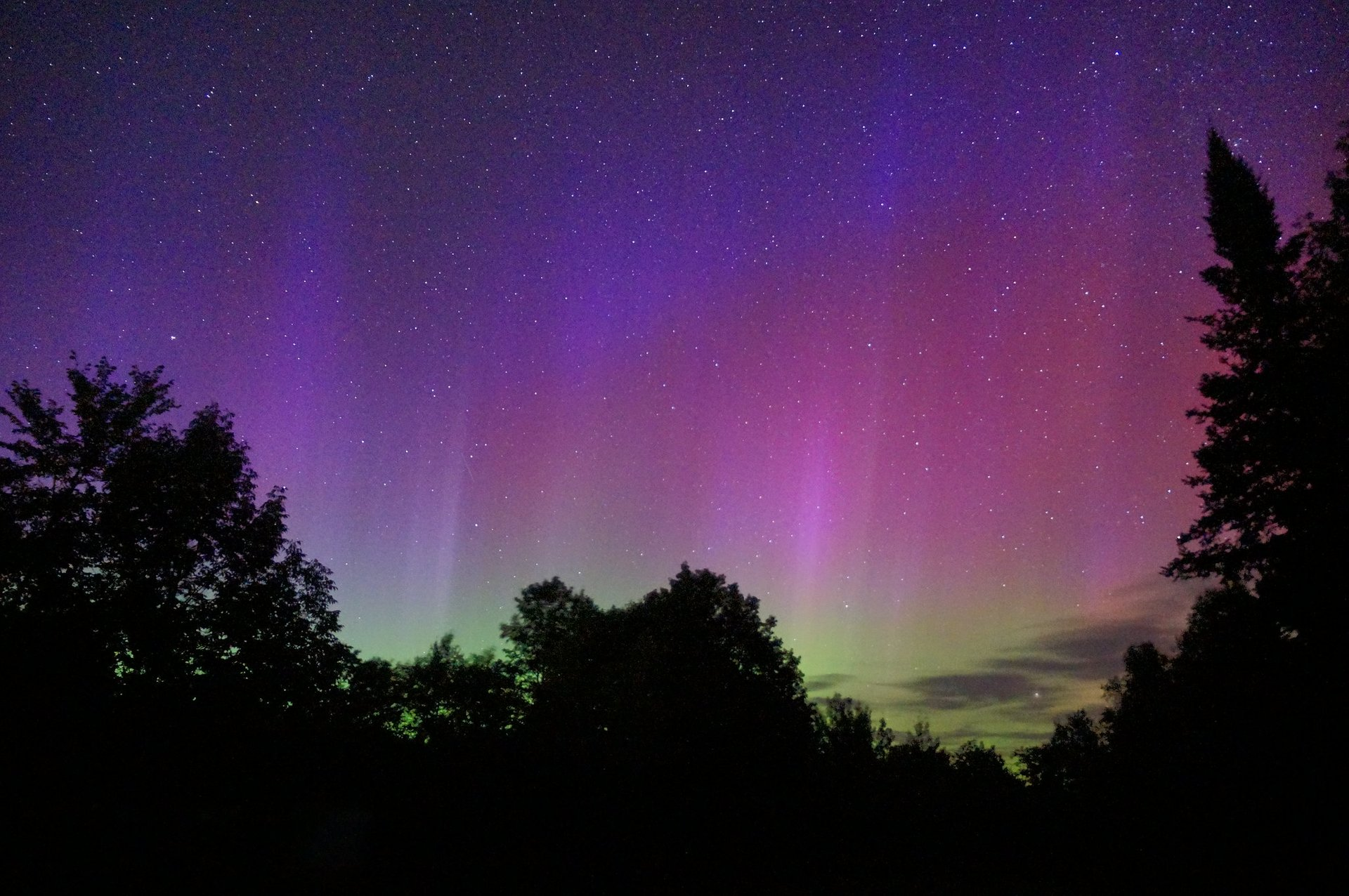 Best time for Northern Lights in Maine 2020