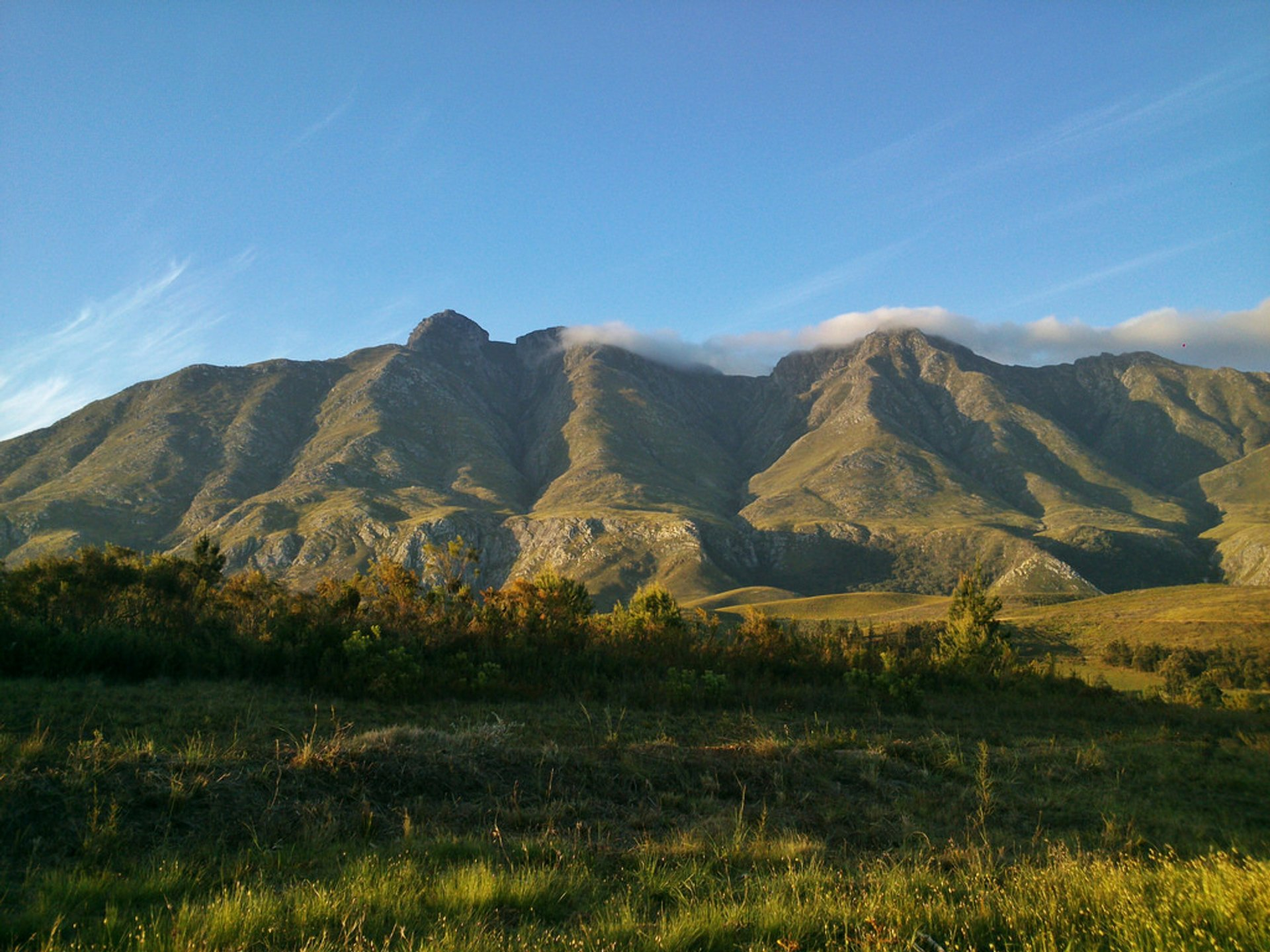Langeberg Mountains in Swellendam