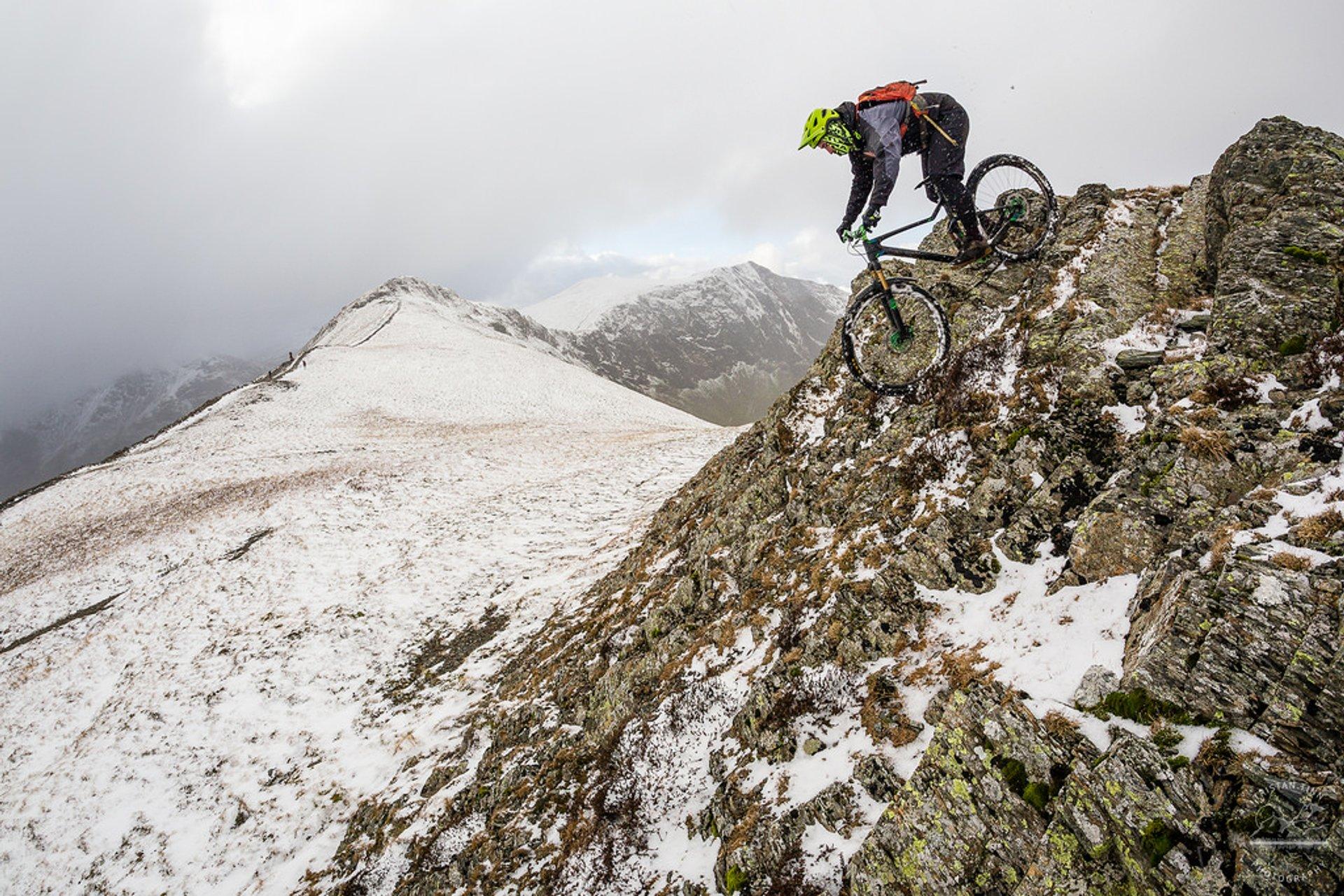 Winter Mountain Biking in England 2019 - Best Time