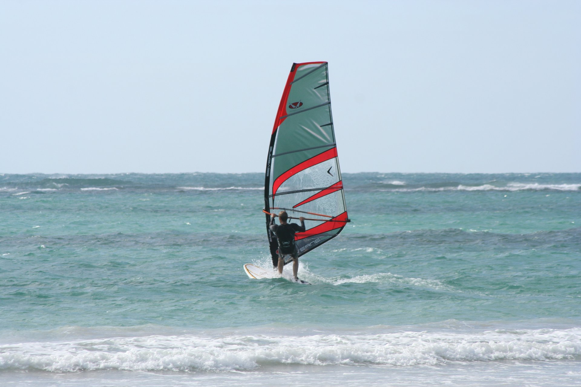 Windsurfing Point Moore 2020