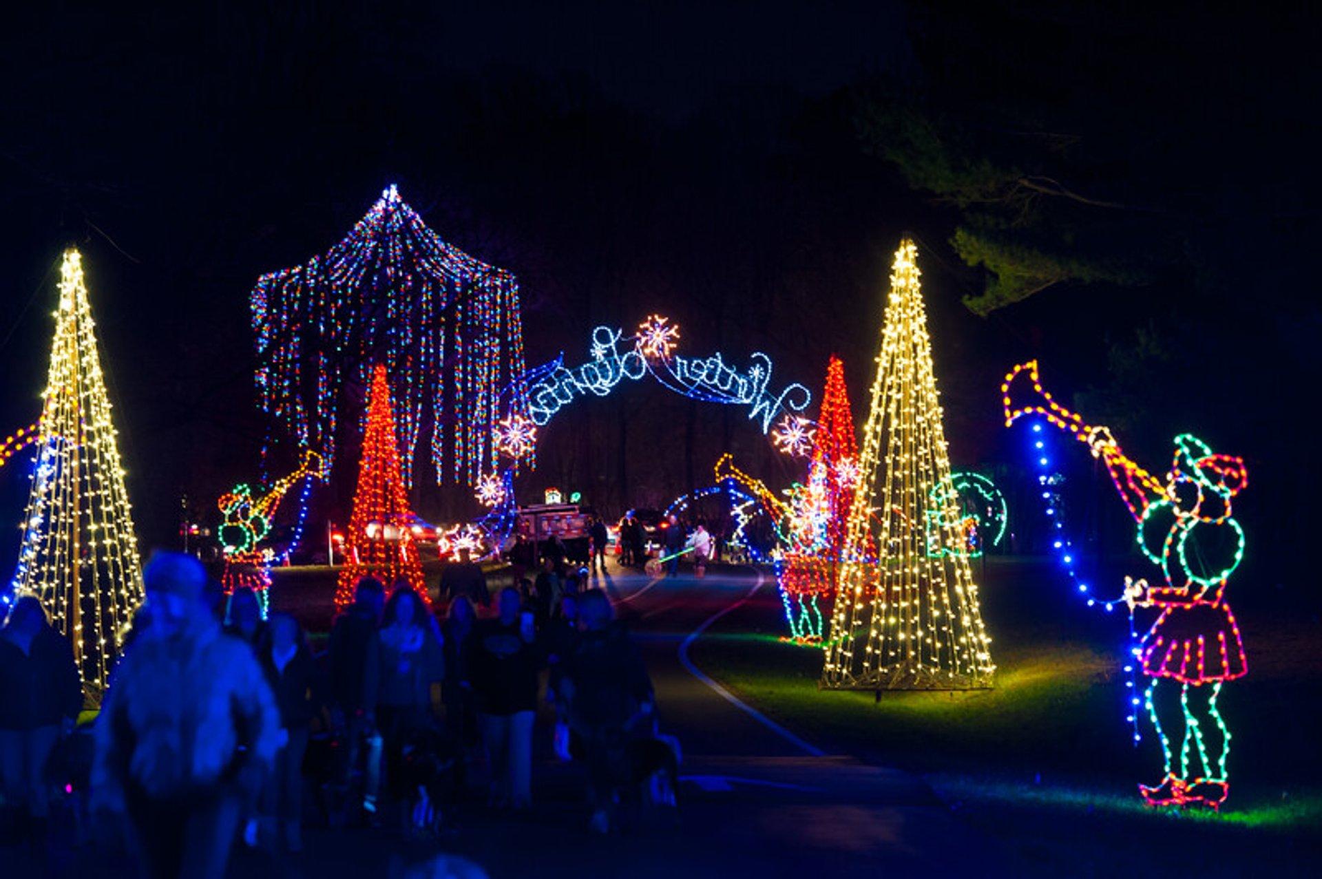 Gaithersburg Winter Lights Festival 2020