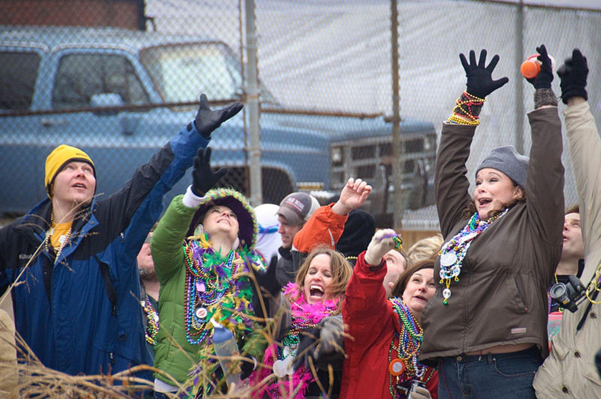 St.Louis Mardi Gras (Soulard Mardi Gras) in Midwest - Best Season 2020