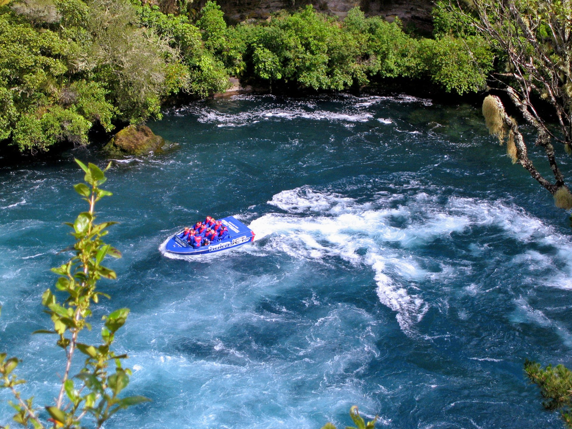 Jet Boating in New Zealand - Best Season
