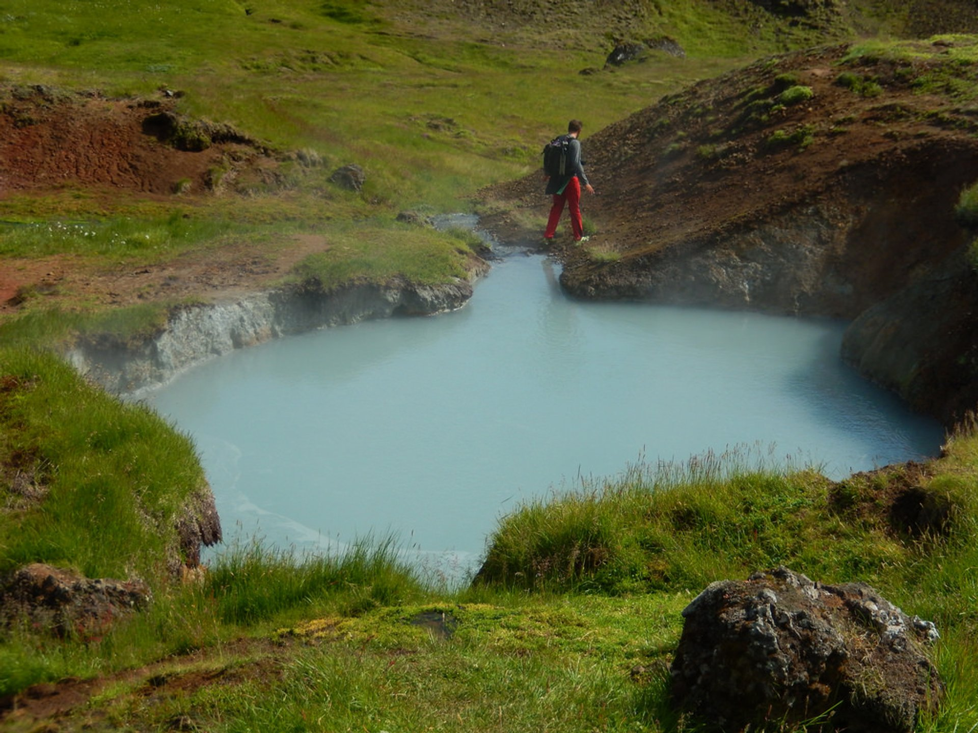 Best time to see Reykjadalur Hot Springs in Iceland 2020