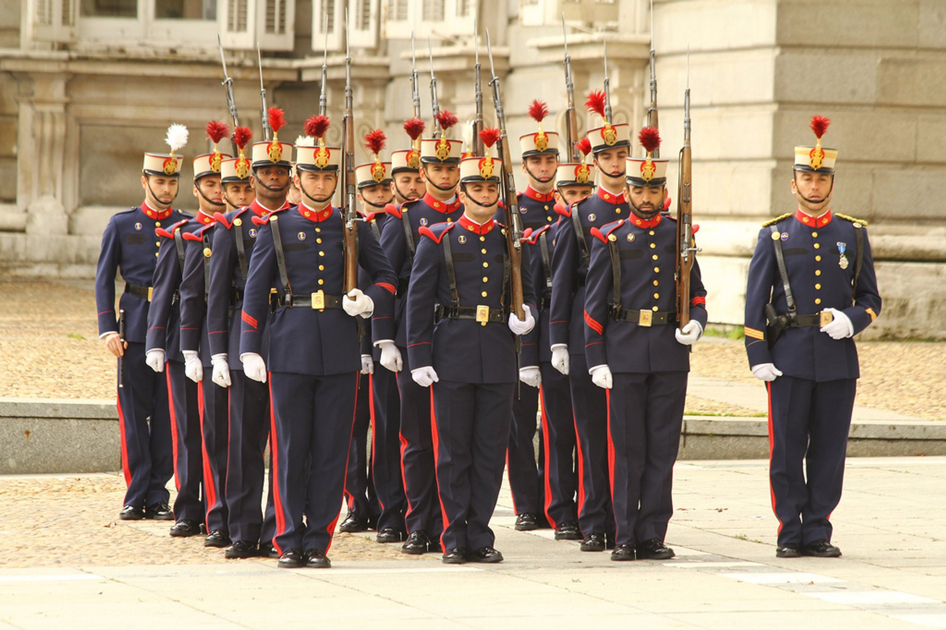 Solemn Changing of the Guard at the Royal Palace in Madrid 2020 - Best Time