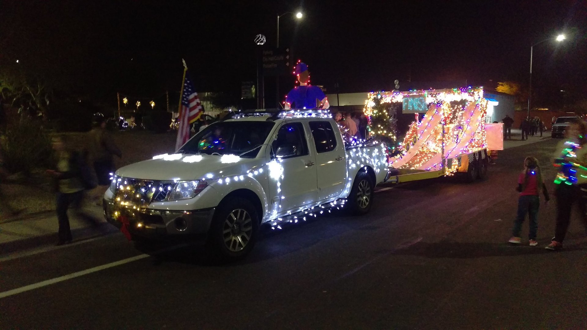 Best time to see Chandler Parade of Lights 2020