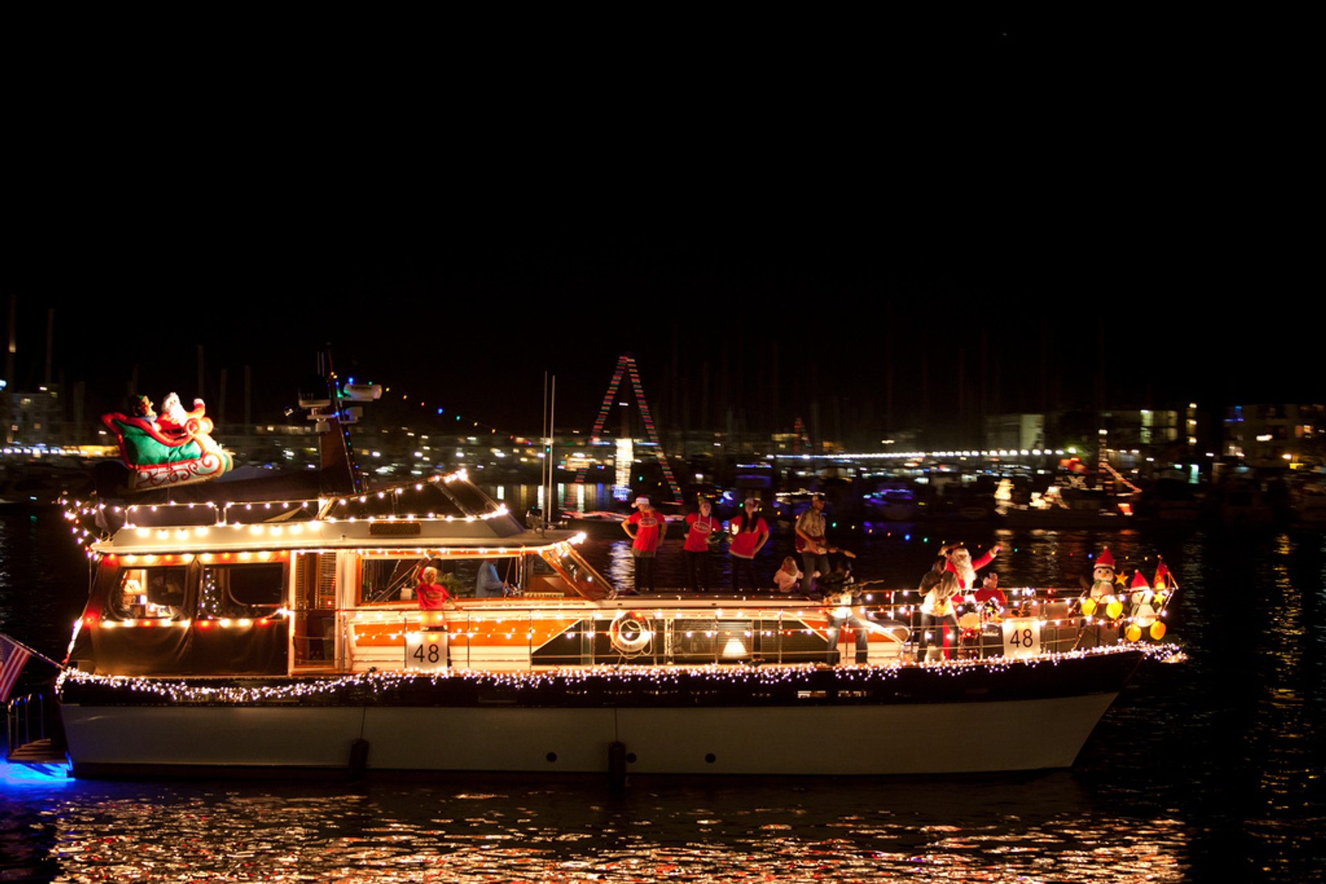 Best time to see Marina del Rey Holiday Boat Parade 2020