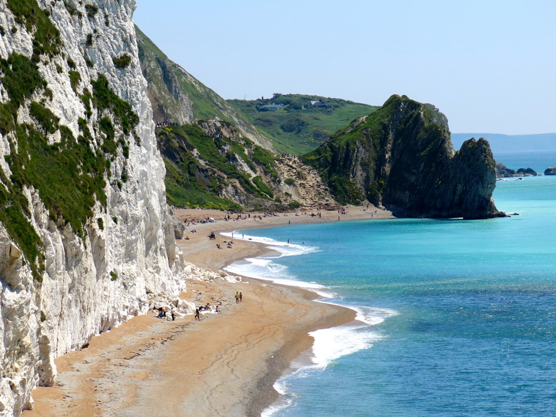 Best time for Jurassic Coast  in England 2020