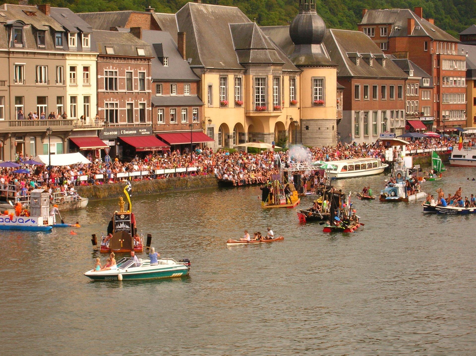 Dinant International Bathtub Regatta in Belgium 2020 - Best Time