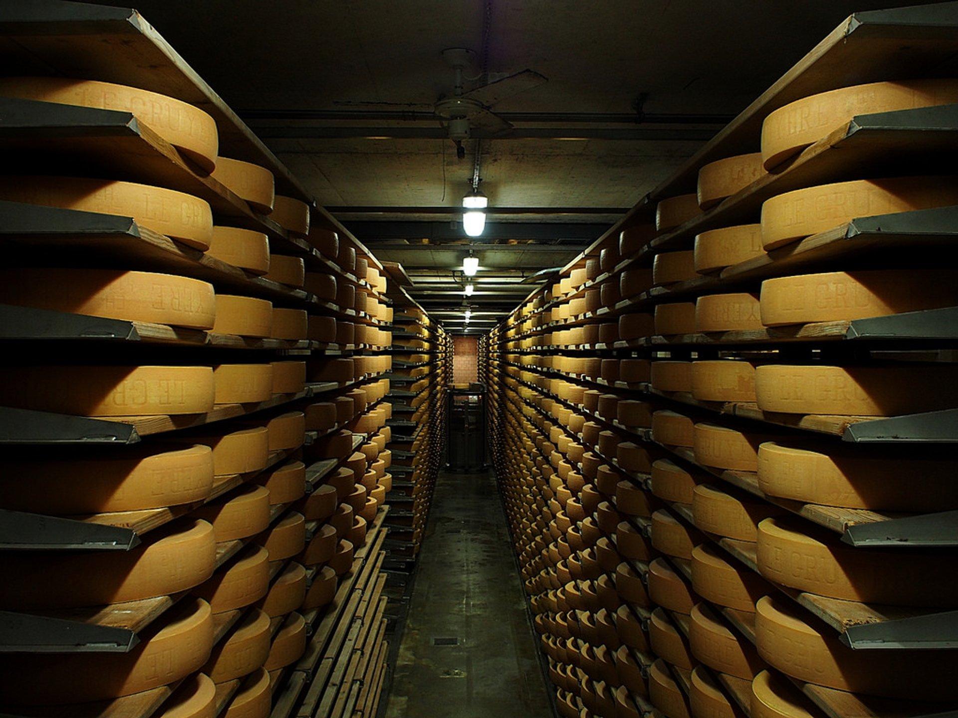 Cheese in Switzerland - Best Season 2020