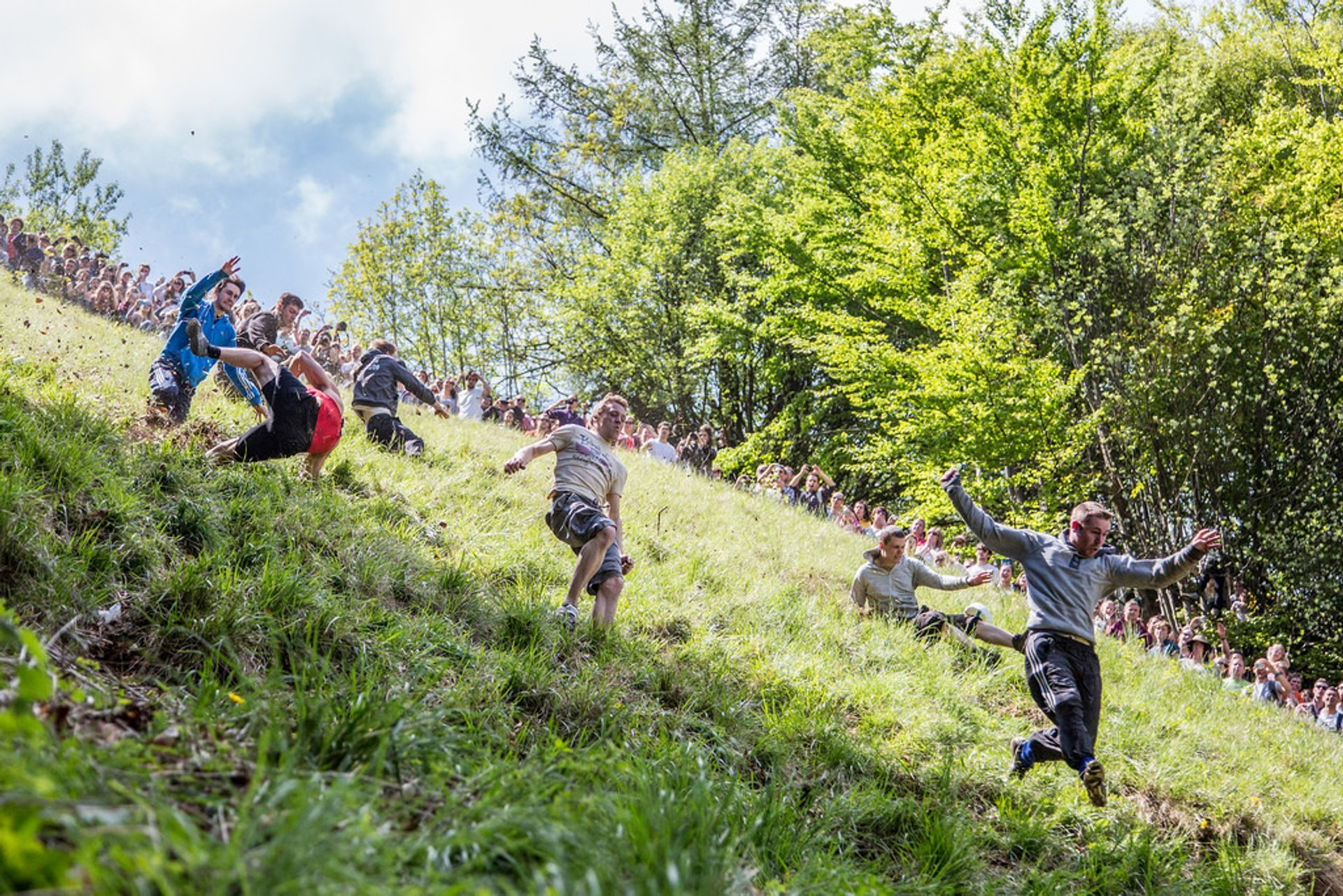 Cooper's Hill Cheese-Rolling and Wake in England 2019 - Best Time