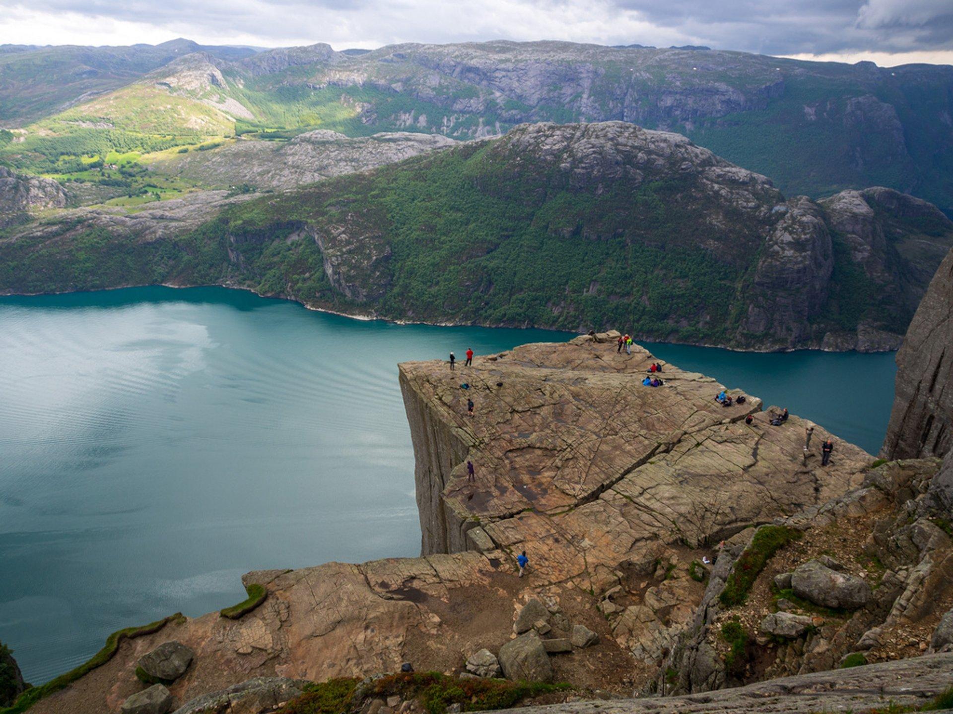 Hike to Preikestolen (Pulpit Rock) in Norway 2020 - Best Time