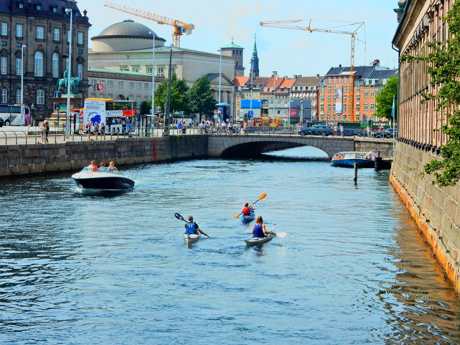 Best time for Kayaking in Copenhagen