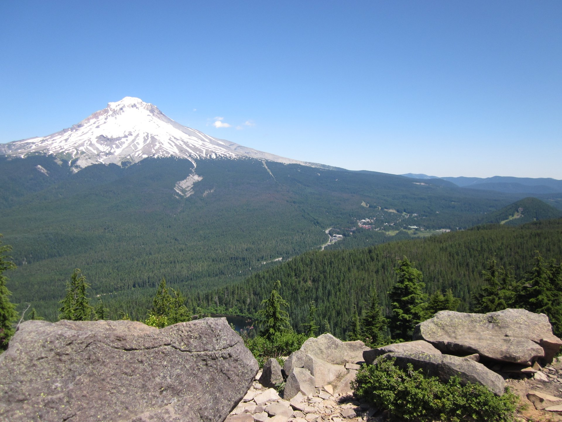 Views over Mt Hood 2020