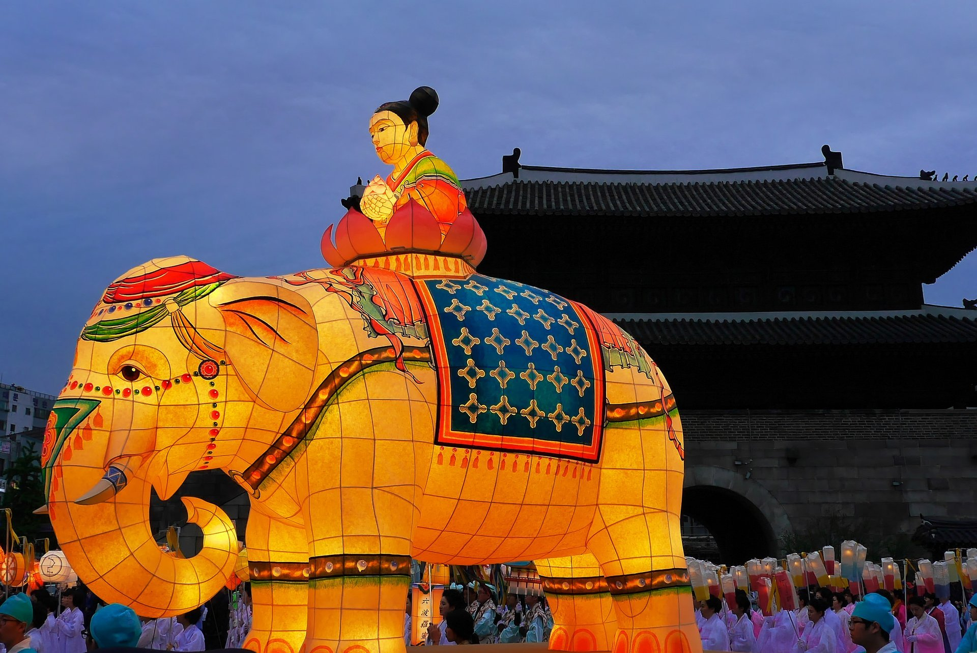 Best time for Lotus Lantern Festival (Yeon Deung Hoe) in Seoul 2020