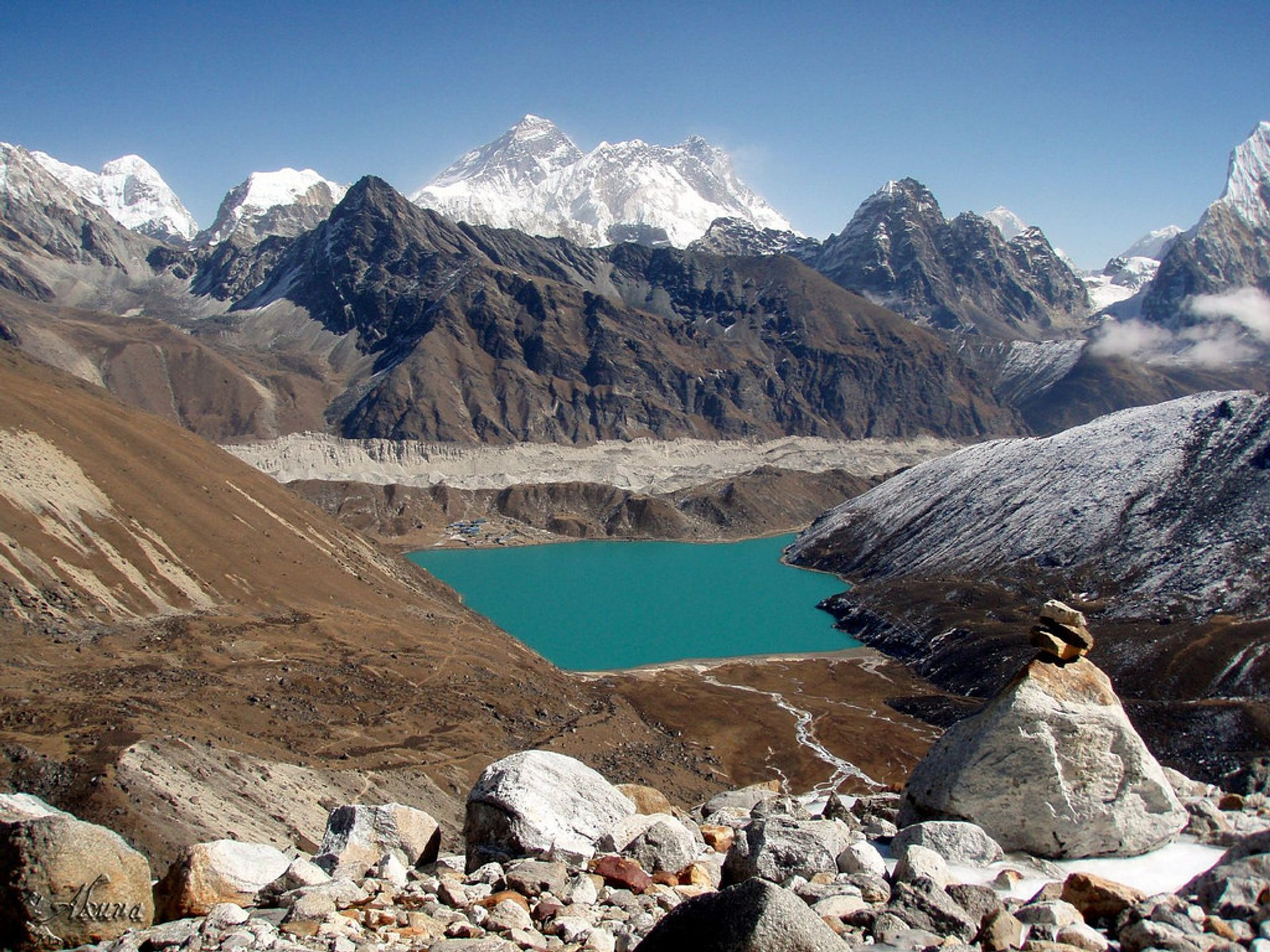 Observing Everest from the Gokyo Lakes in Nepal - Best Season 2019
