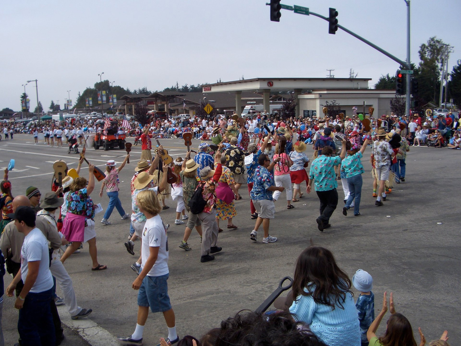 World's Shortest Parade in Aptos, CA 2020