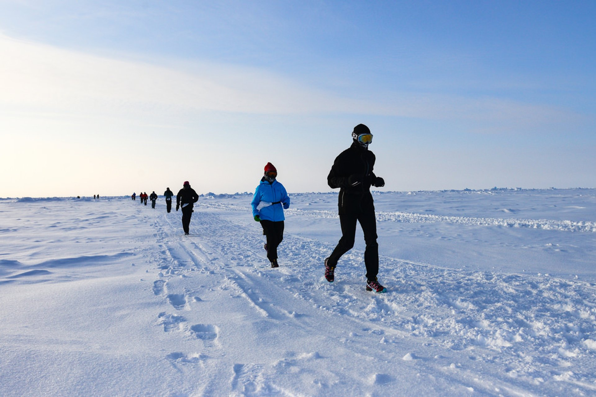 North Pole Marathon in Svalbard 2020 - Best Time