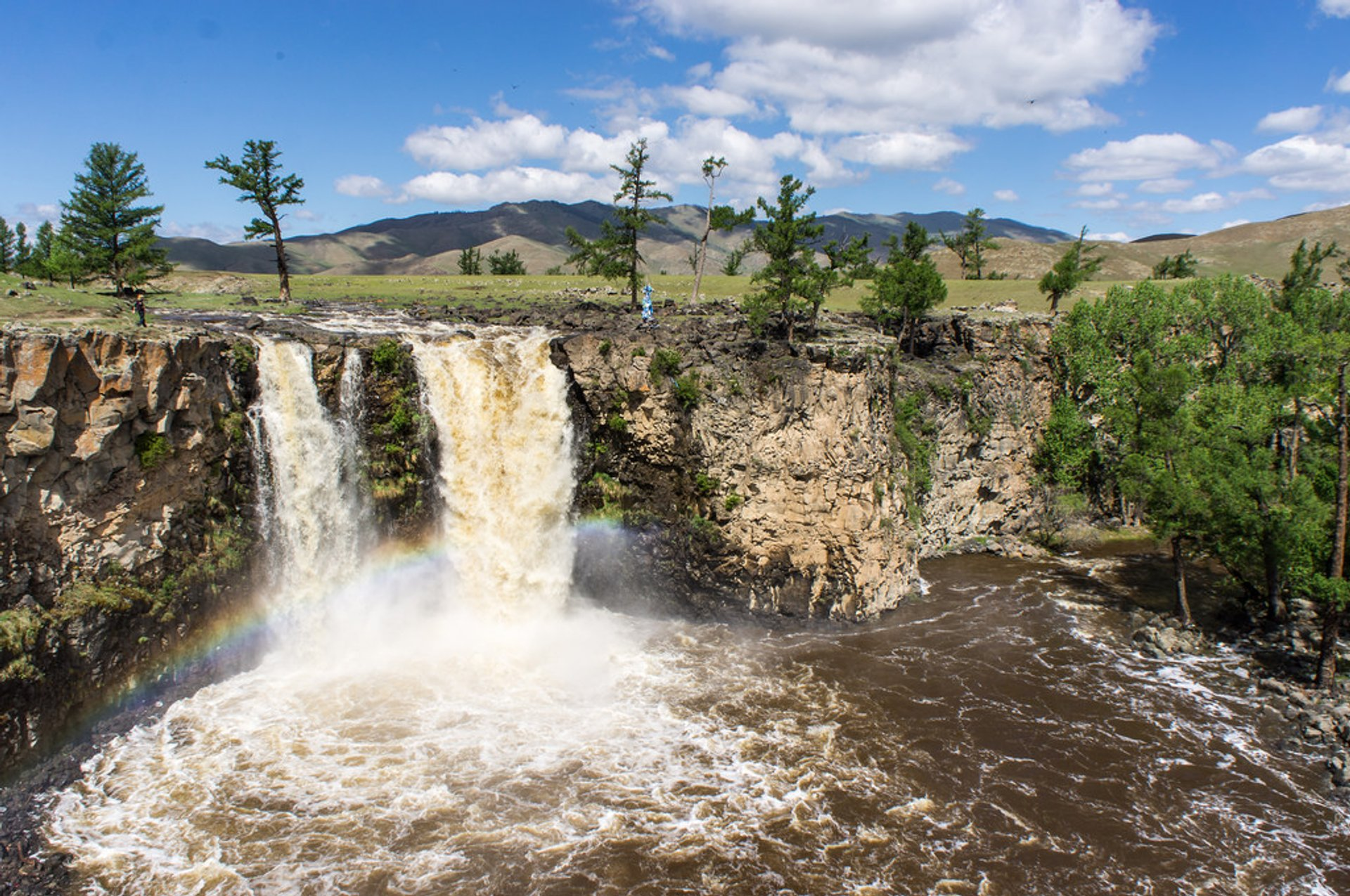 Orkhon Waterfalls in Mongolia 2020 - Best Time