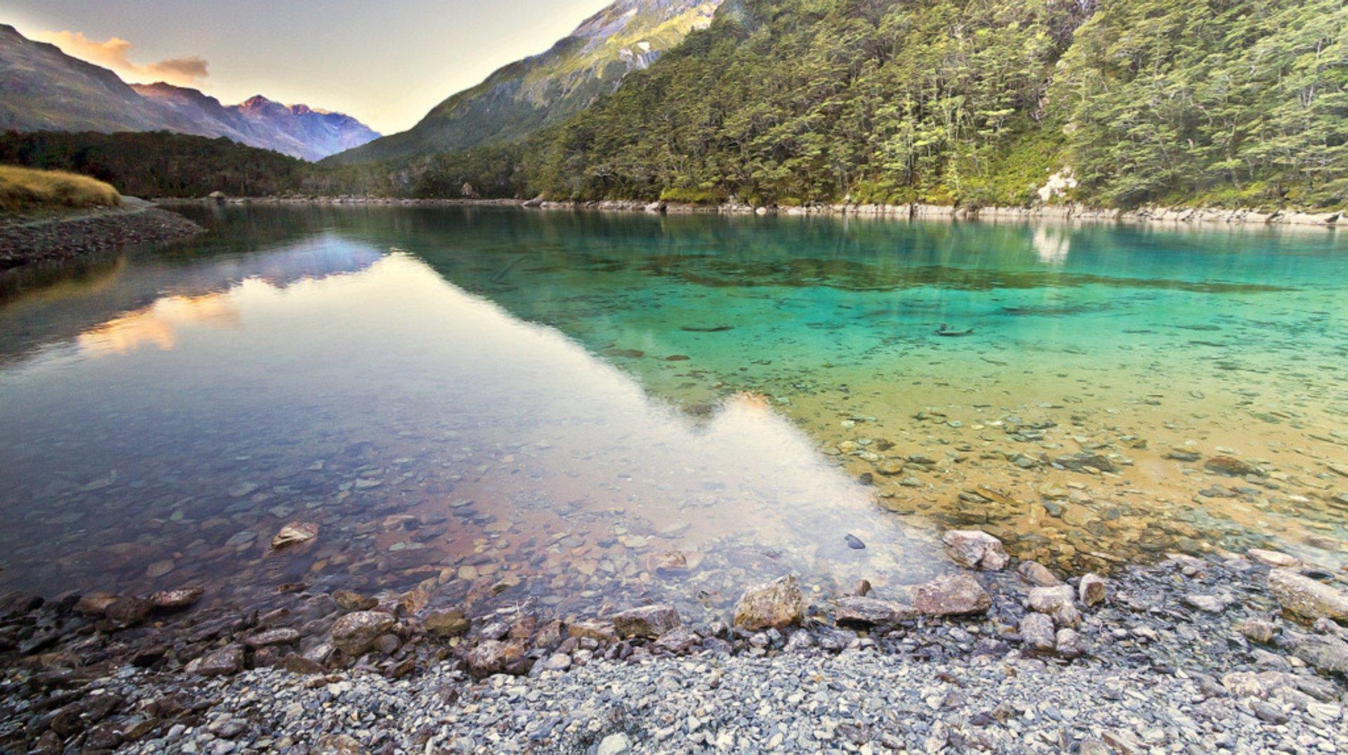 Blue Lake in New Zealand - Best Season