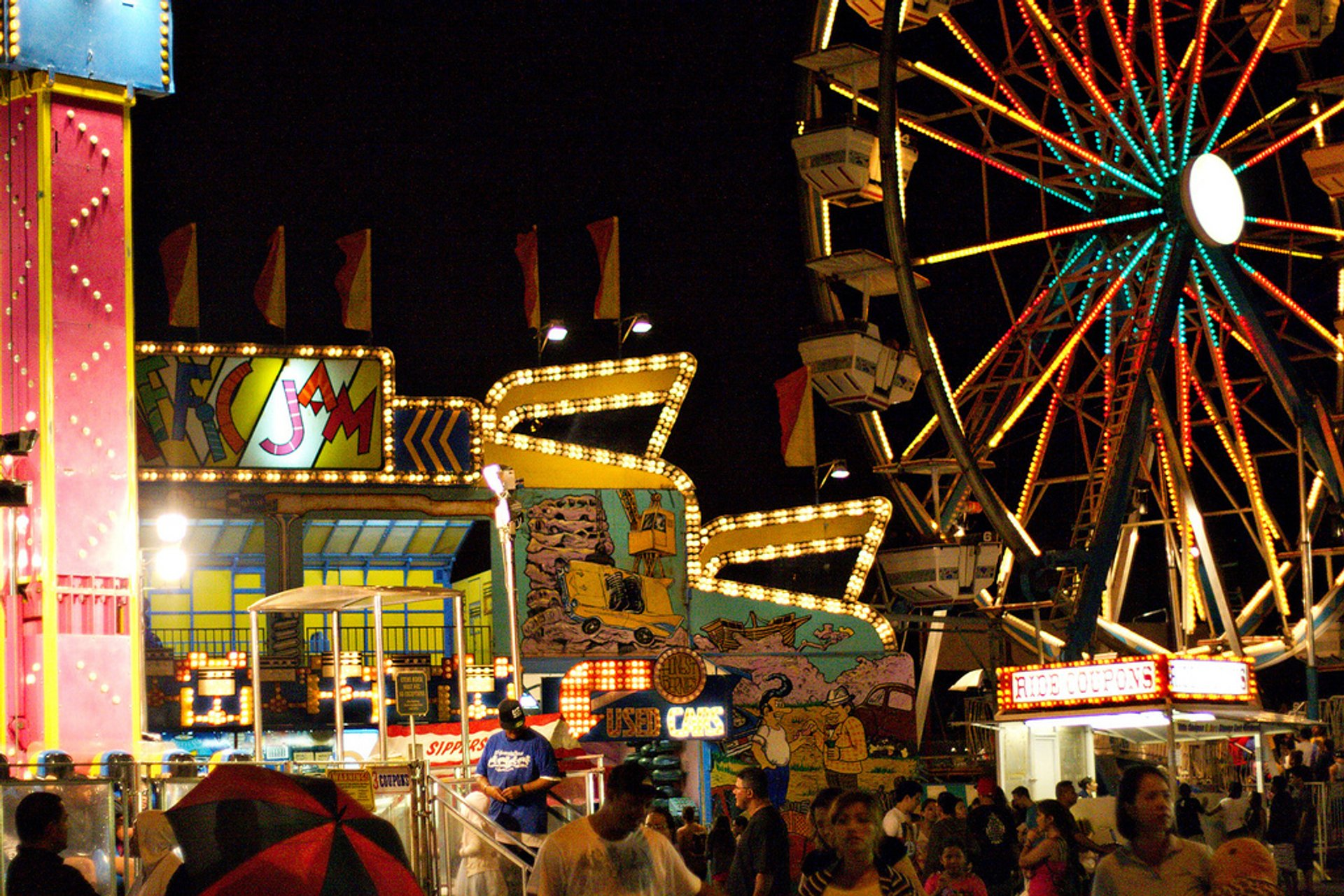 Best time for 50th State Fair in Hawaii