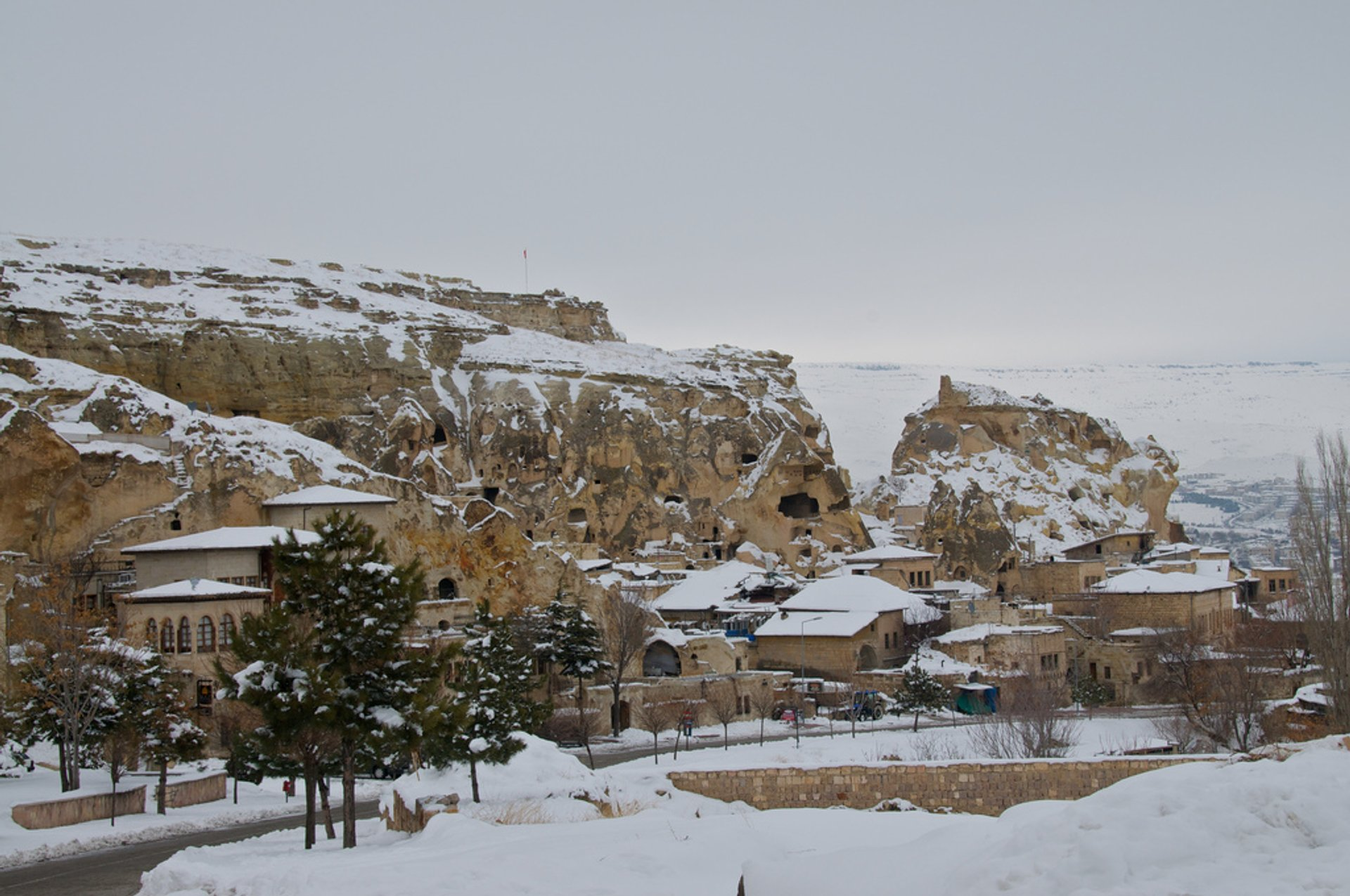 Best time for Winter Hiking Adventure in Cappadocia 2019