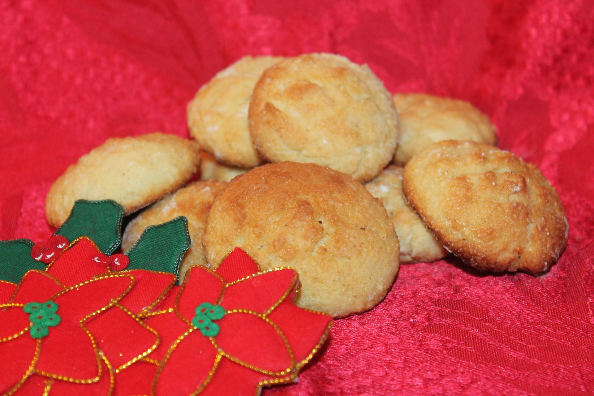 Bolinhas de Coco or Coconut Cookies