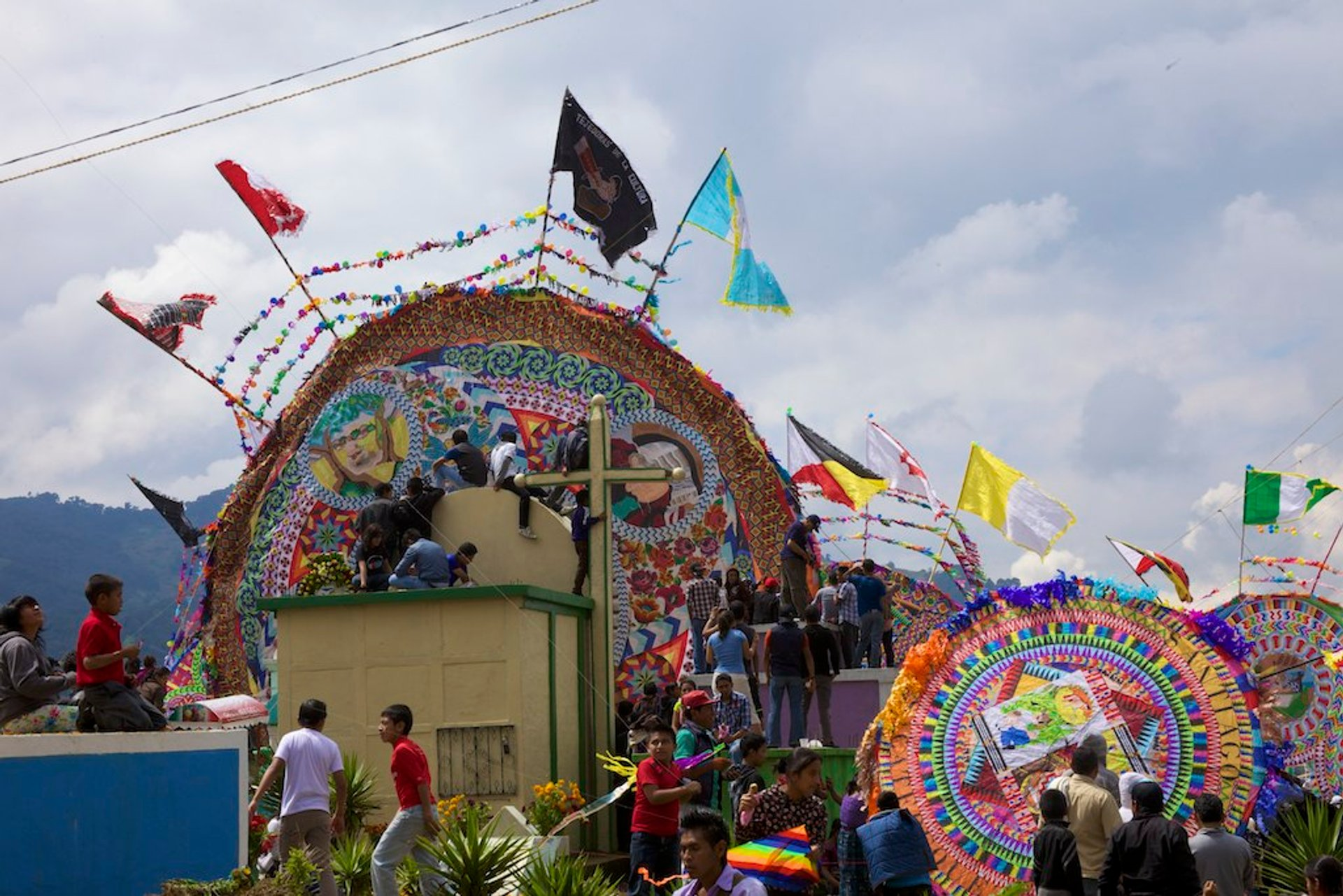 Barriletes Gigantes in Santiago Sacatepéquez 2019