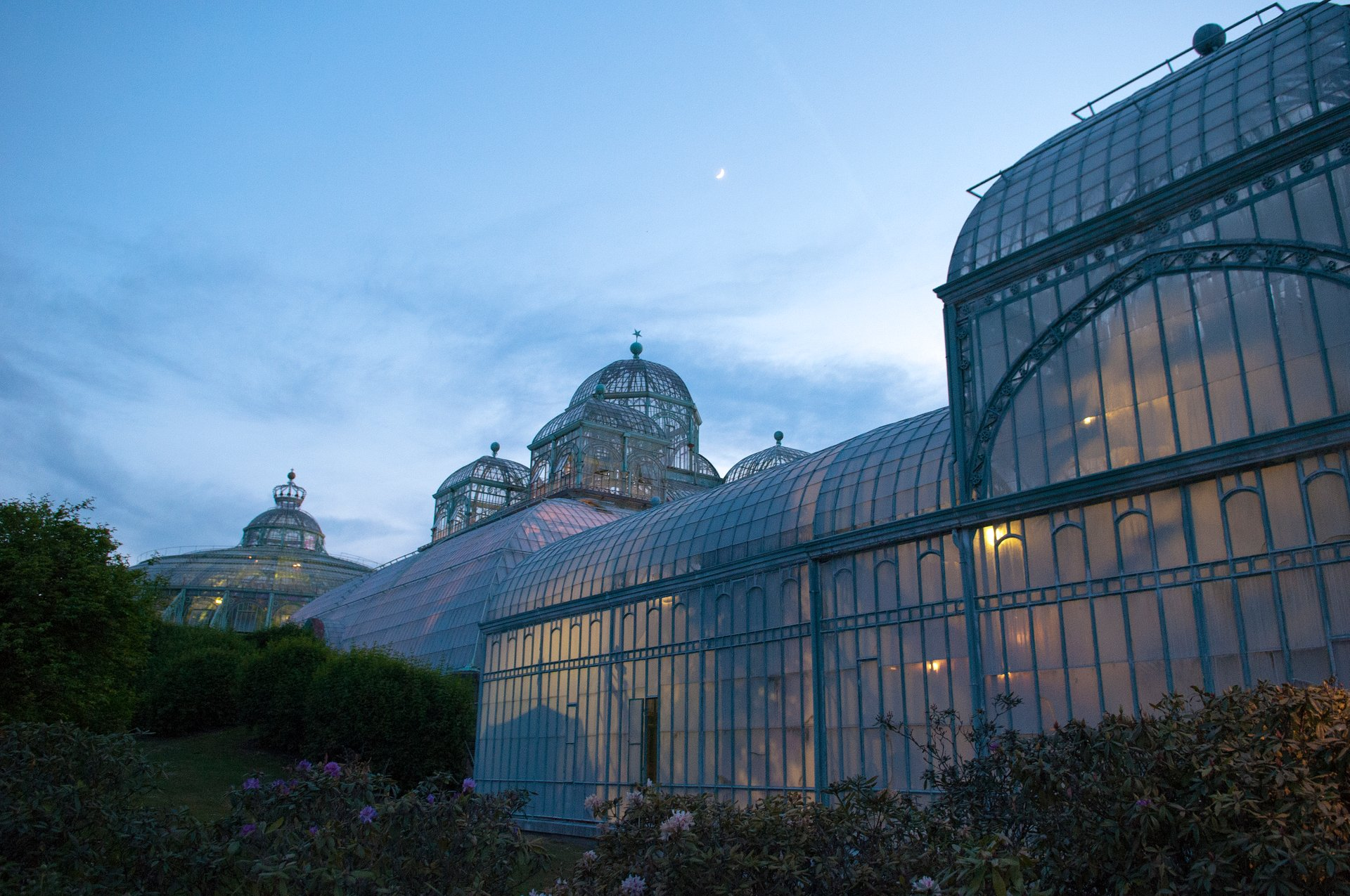 Best time to see Royal Greenhouses of Laeken 2020
