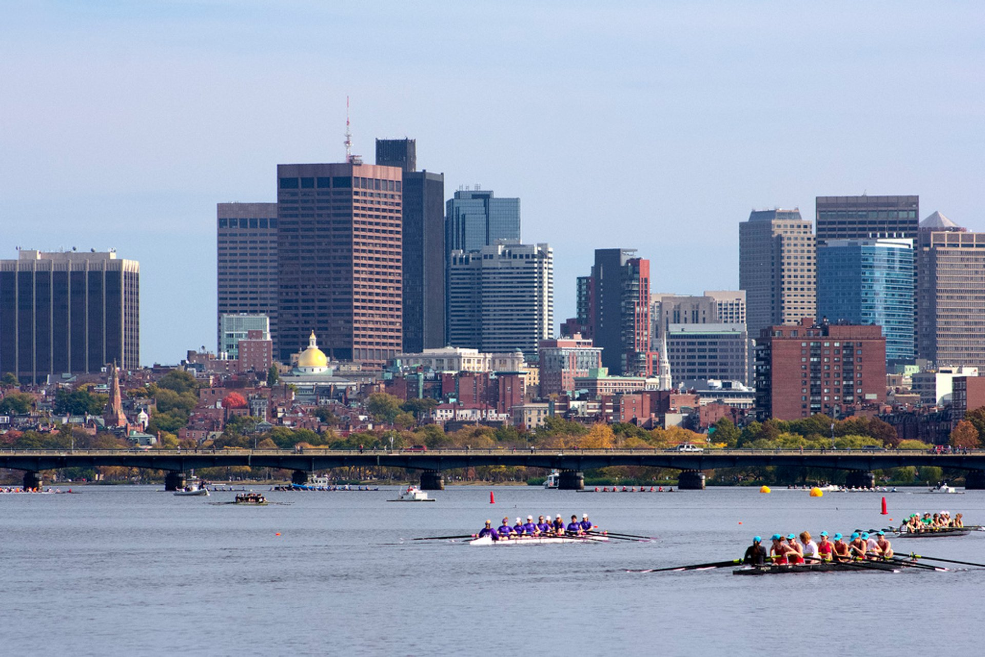 Best time for Charles Canoe and Kayak Races in Boston 2020