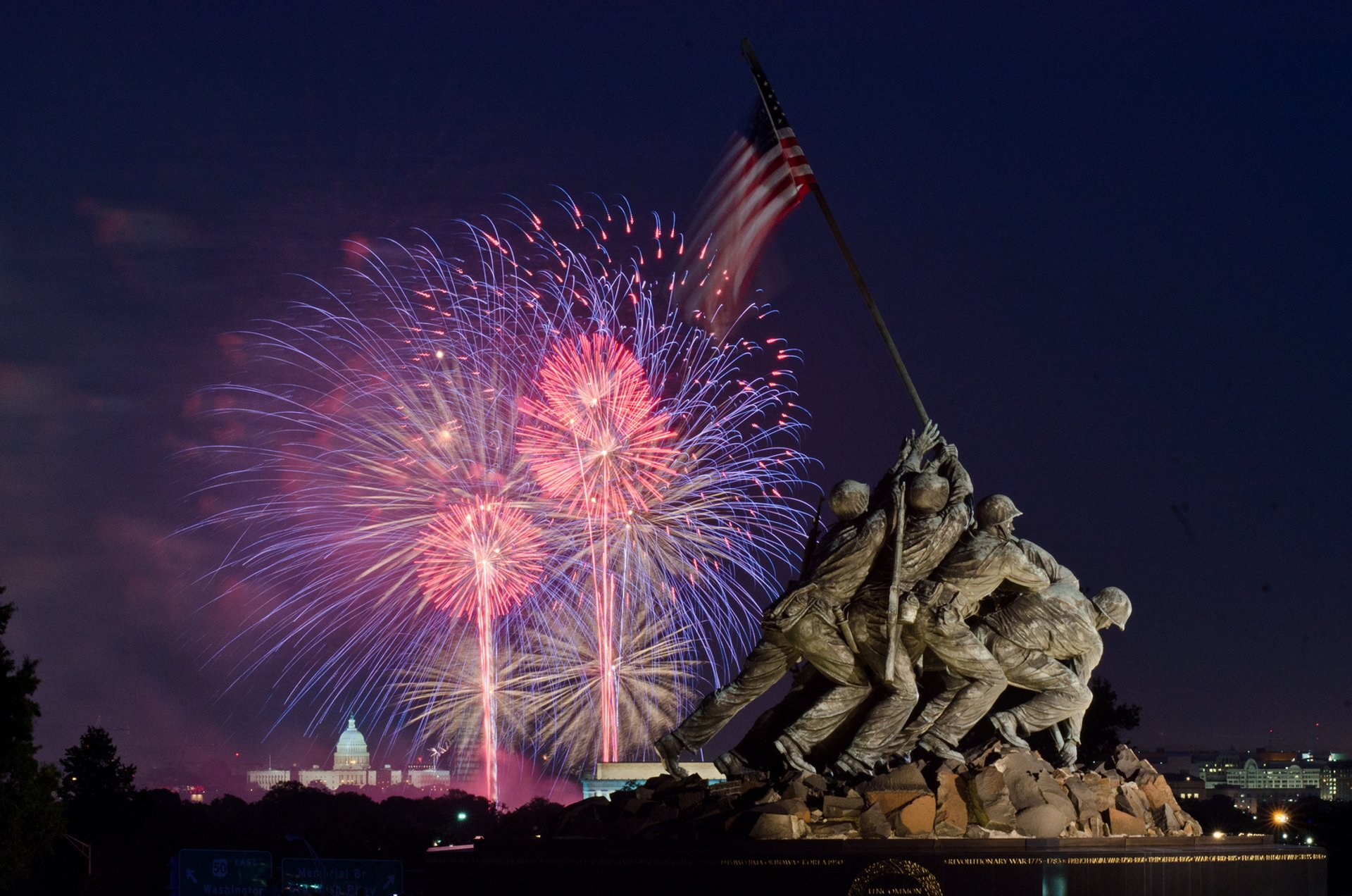 Best time to see 4th of July Concert, Parade & Fireworks in Washington, D.C. 2020