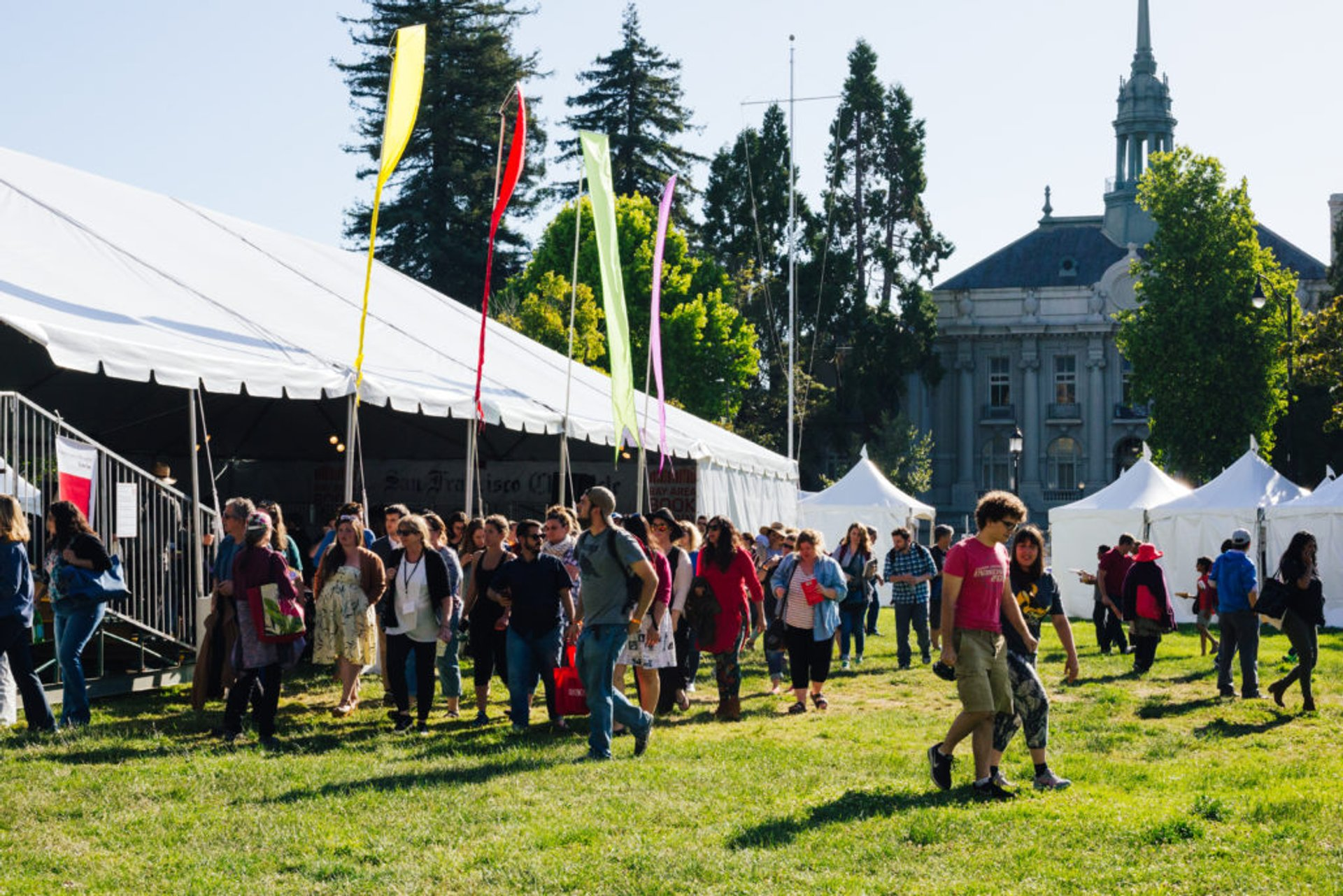 Best time to see Bay Area Book Festival 2020