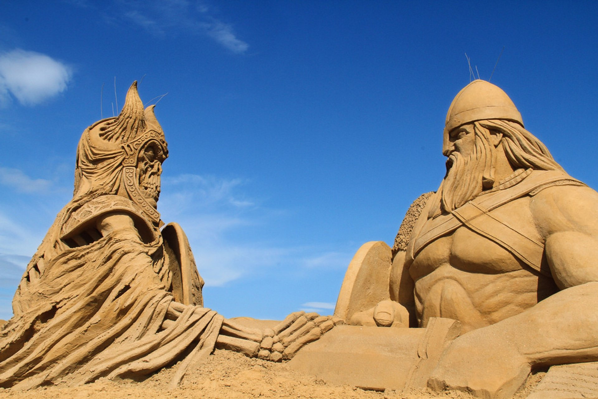Søndervig Sand Sculpture Festival in Denmark 2019 - Best Time