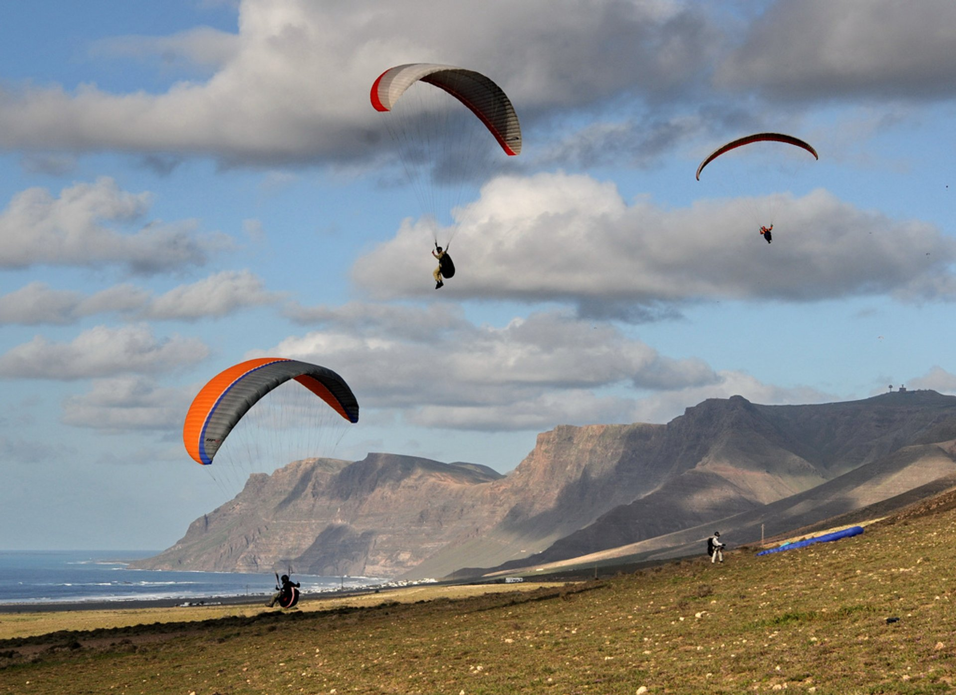 Best time for Paragliding in Canary Islands 2019 - Best Season & Map