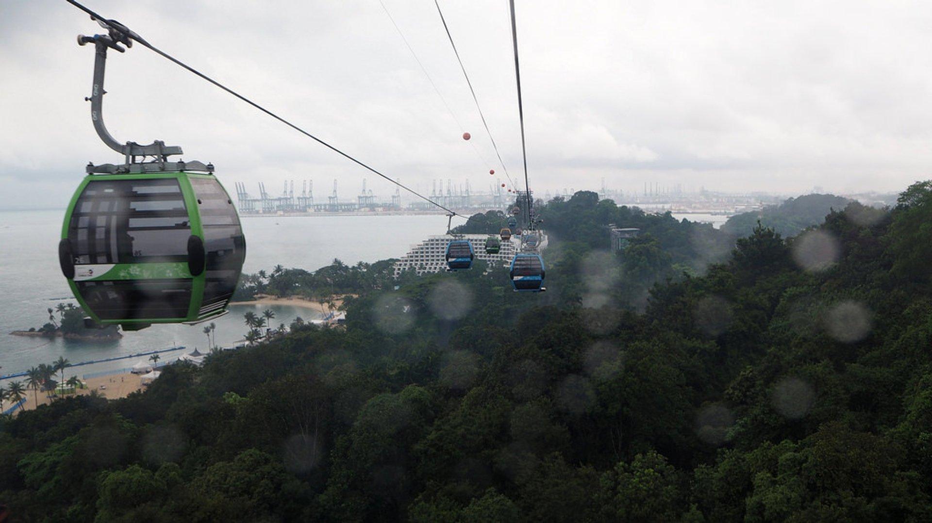 Northeast Monsoon or Wet Season (Winter) in Singapore - Best Season 2020