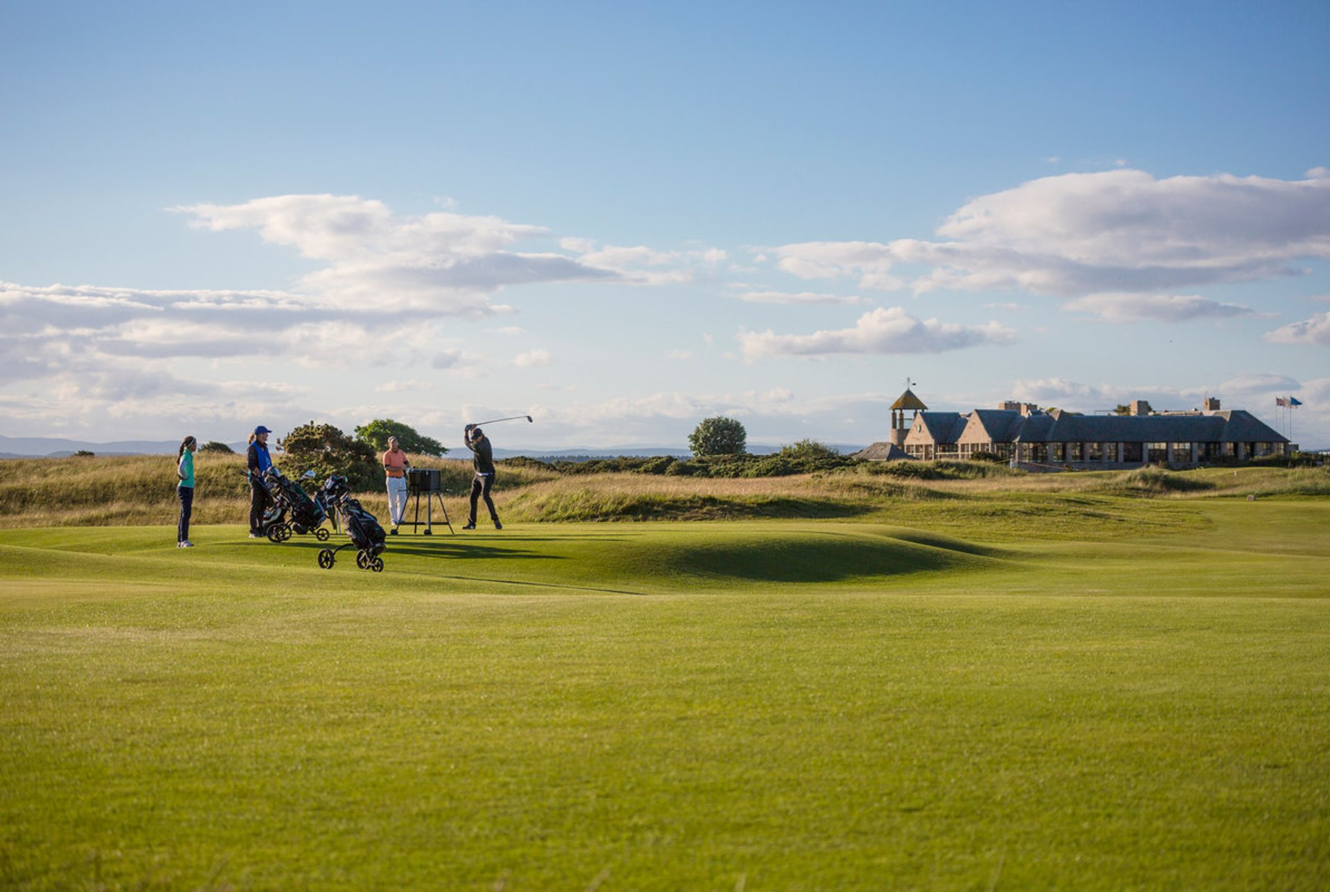 The Old Course in St Andrews 2020