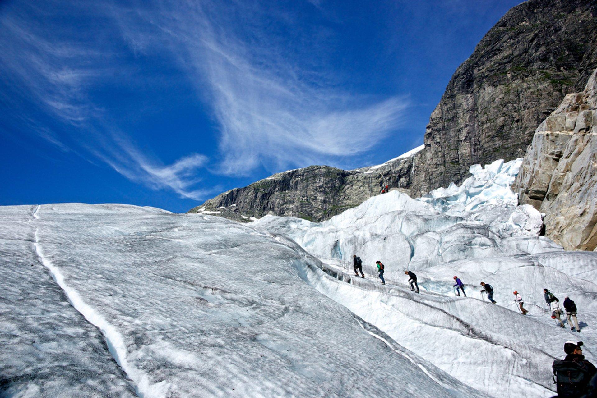 Jostedalsbreen glacier 2020
