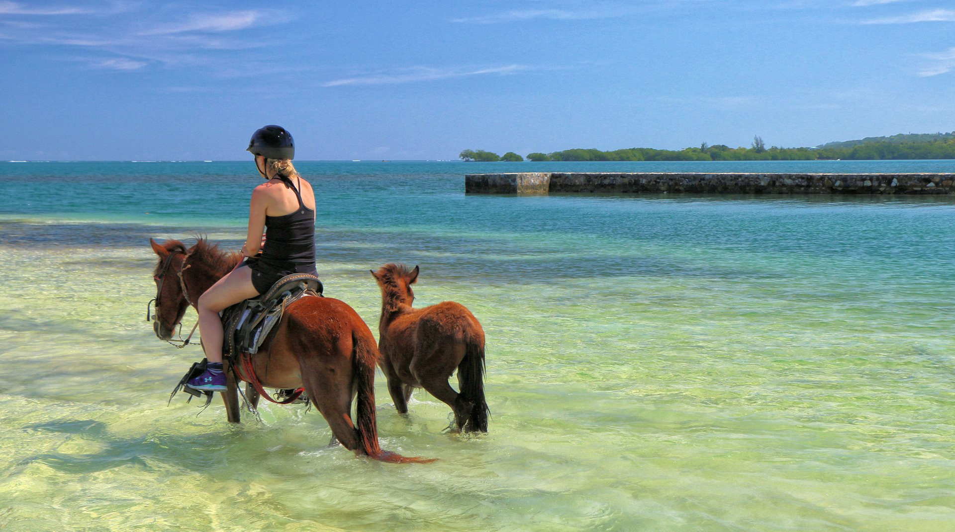 Best time to see Horseback Riding on Roatán in Honduras 2020
