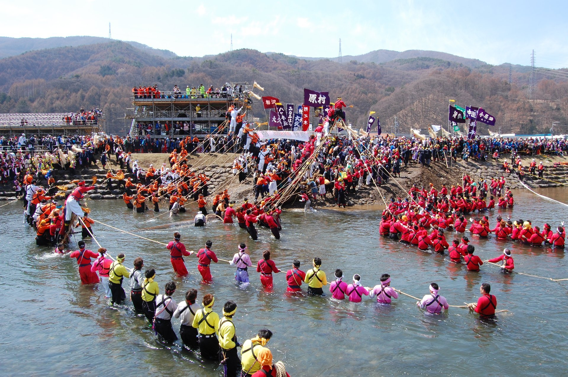 Onbashira Festival in Japan - Best Season