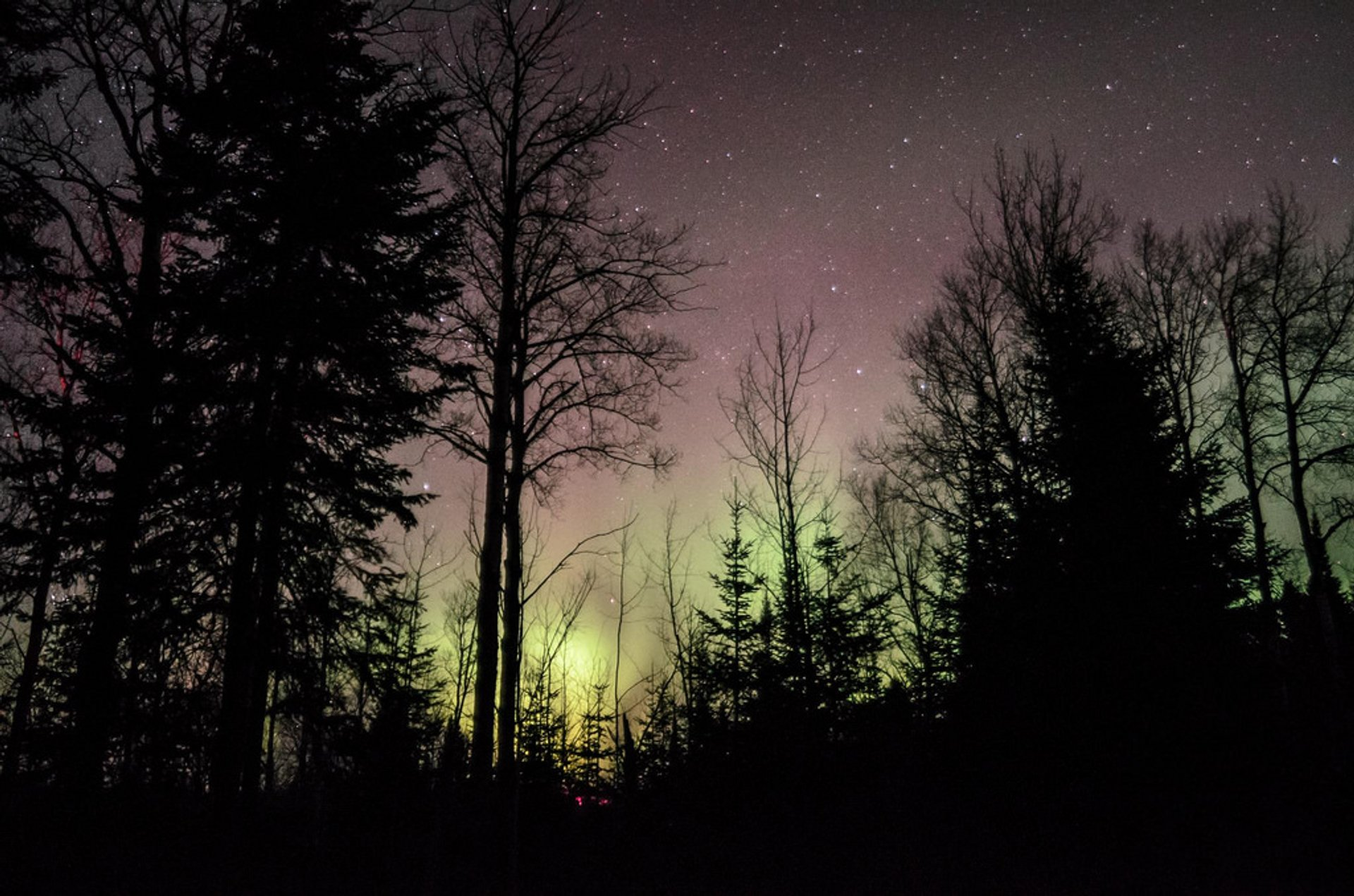 Northern Lights in Ontario - Best Season 2020